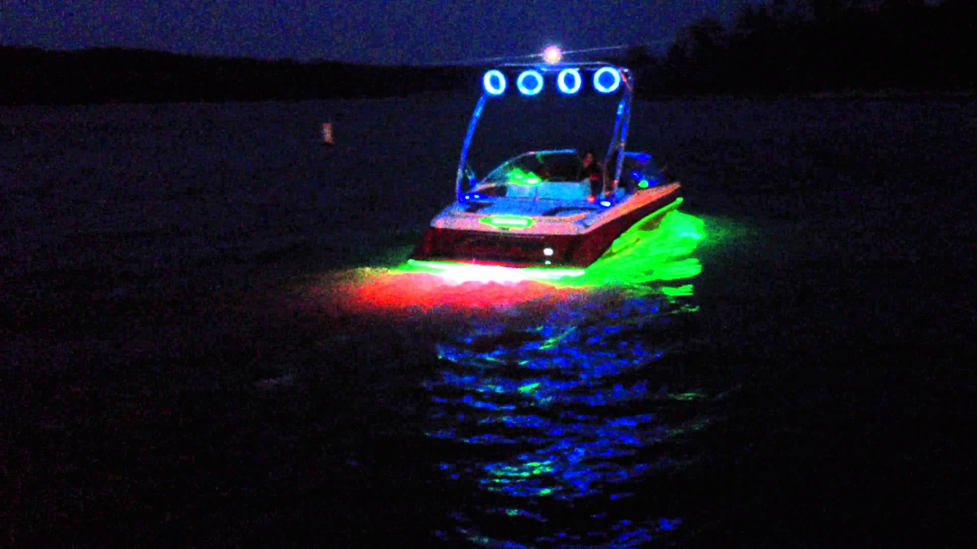 Legit LED Fully Custom Boat in RGB - YouTube