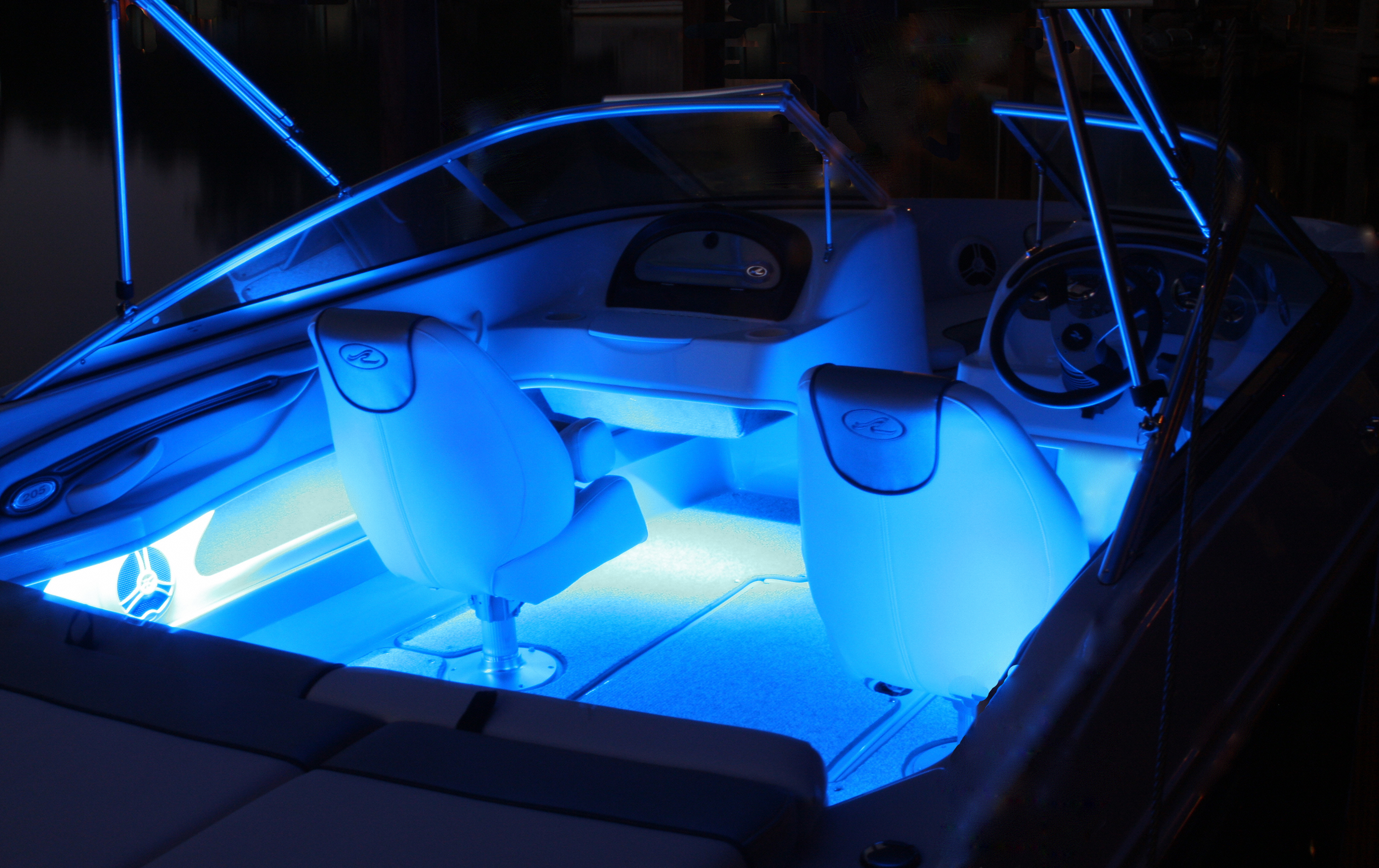 Which Are Better? Dedicated LED Boat Lights or DIY LED Lighting ...