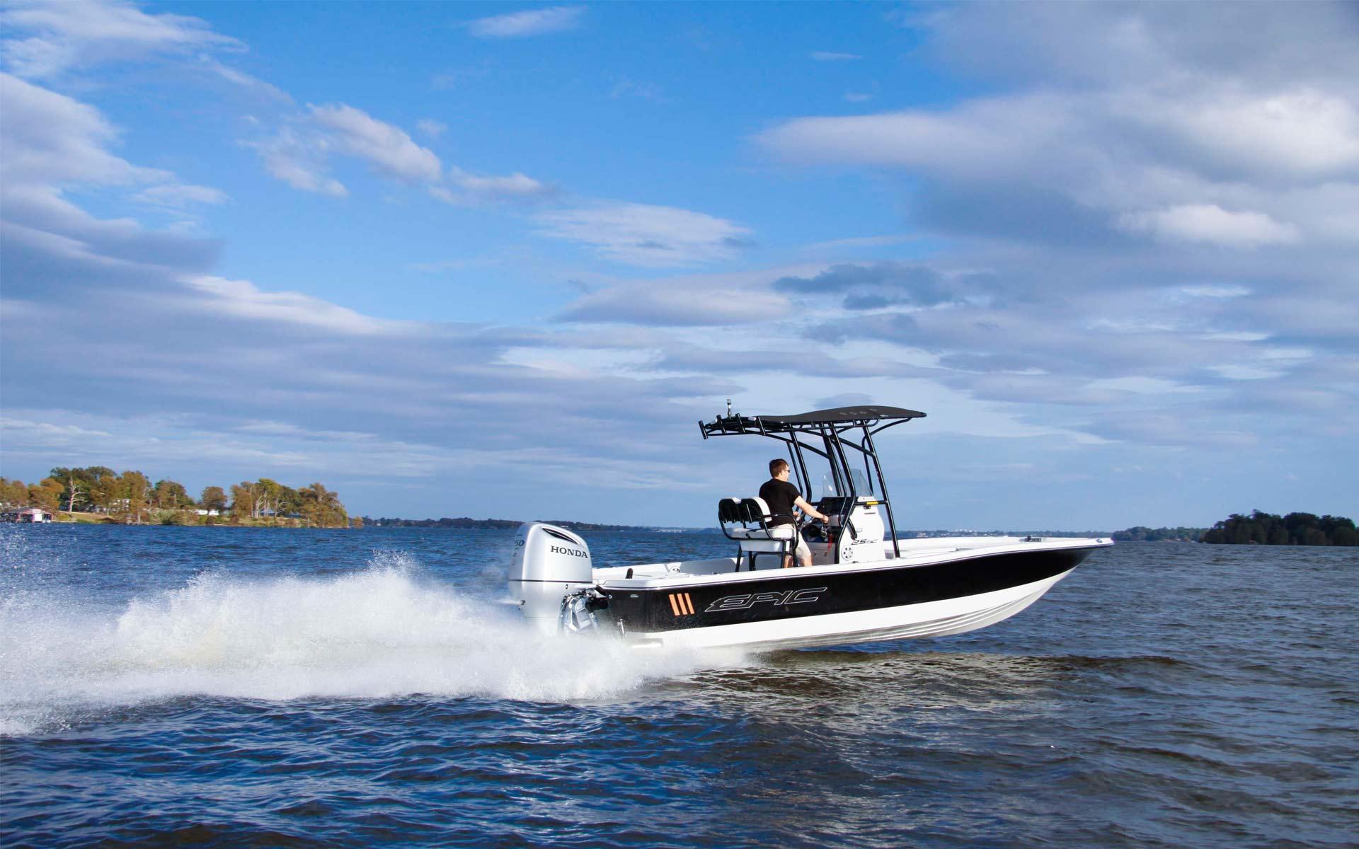 Epic Boats | Bay Boats & Wake Boats