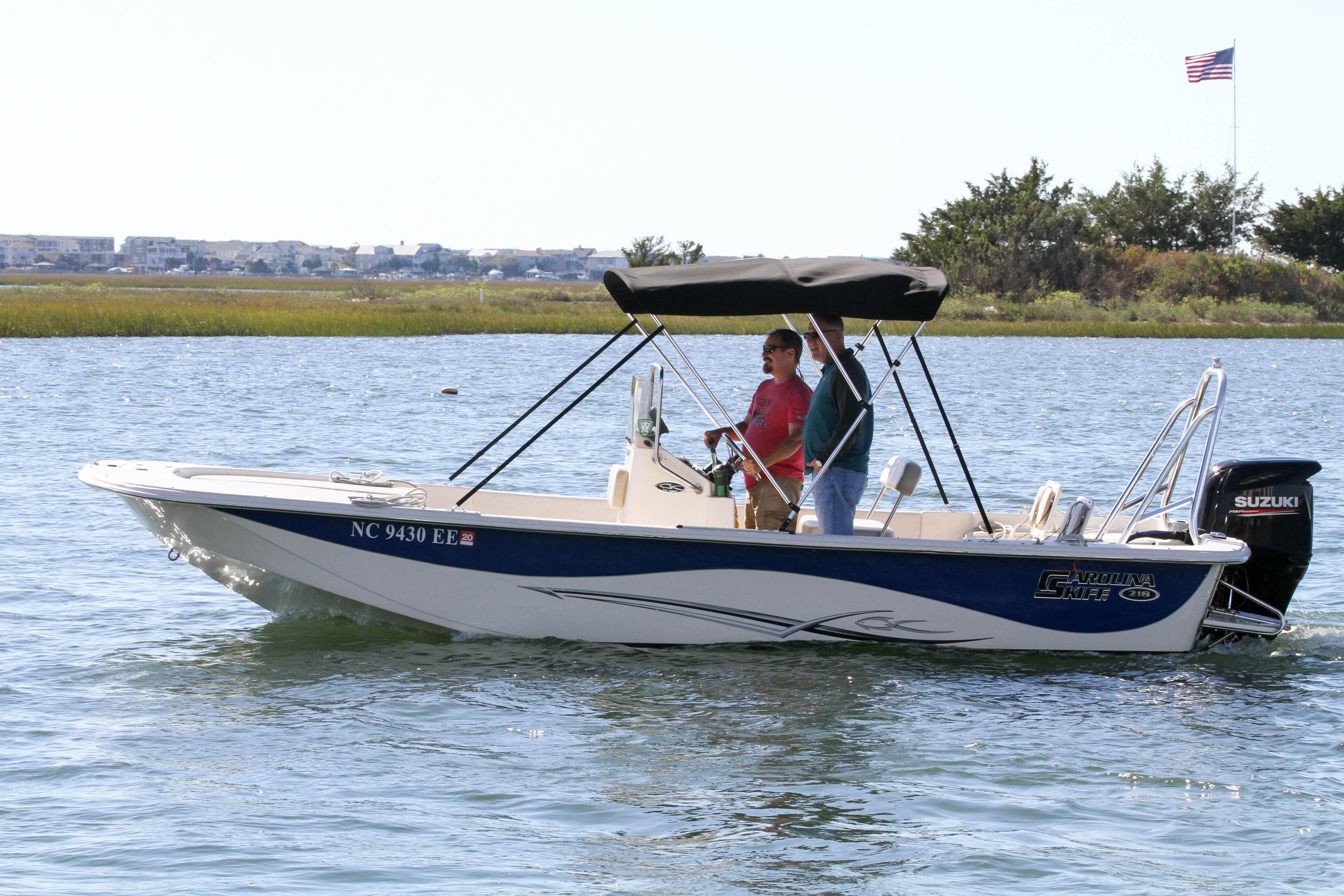 Carolina Skiff Boat Rentals Carolina Beach, NC | Water Sports
