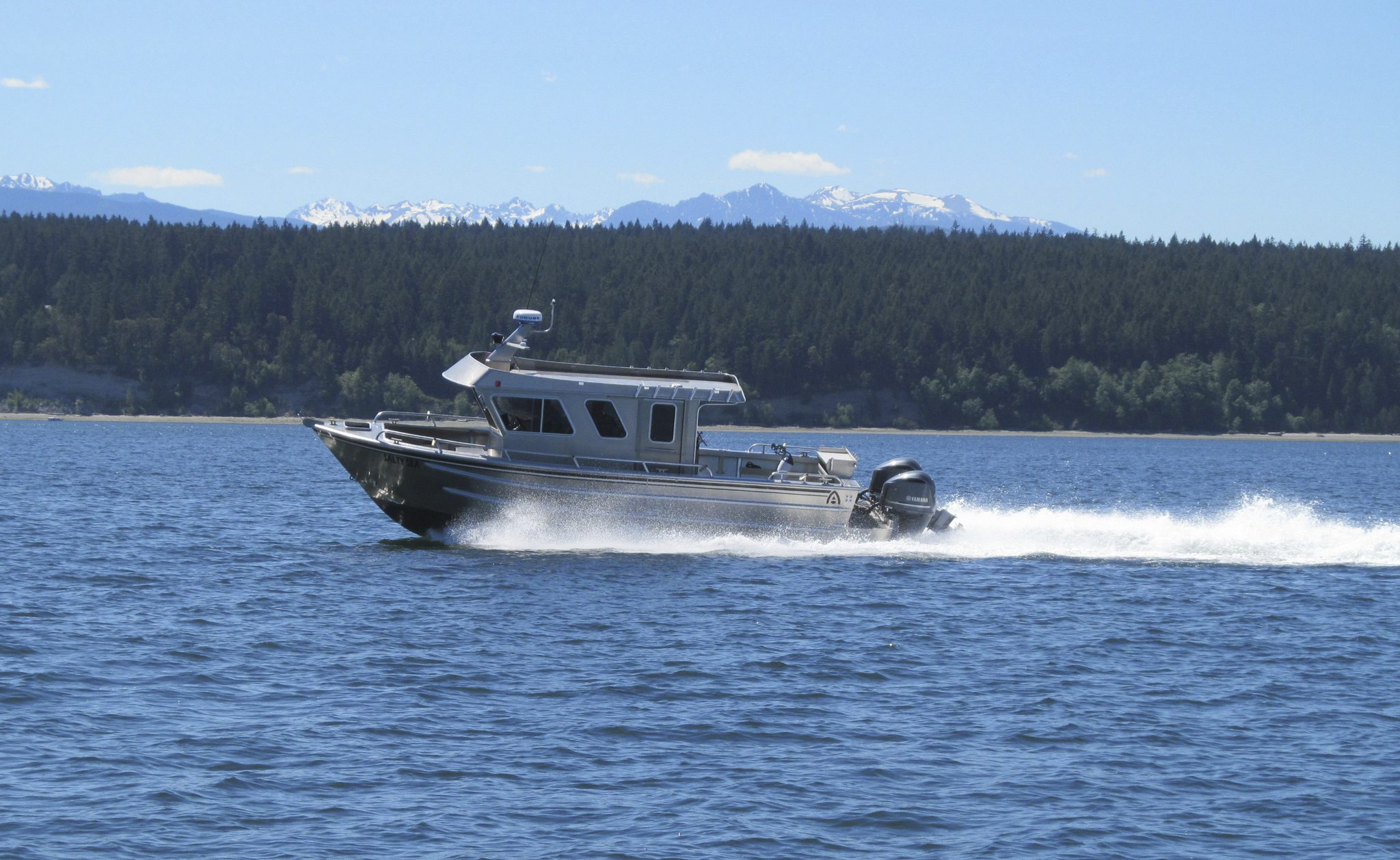 ACI Boats | All-Welded Aluminum Monohulls & Catamarans