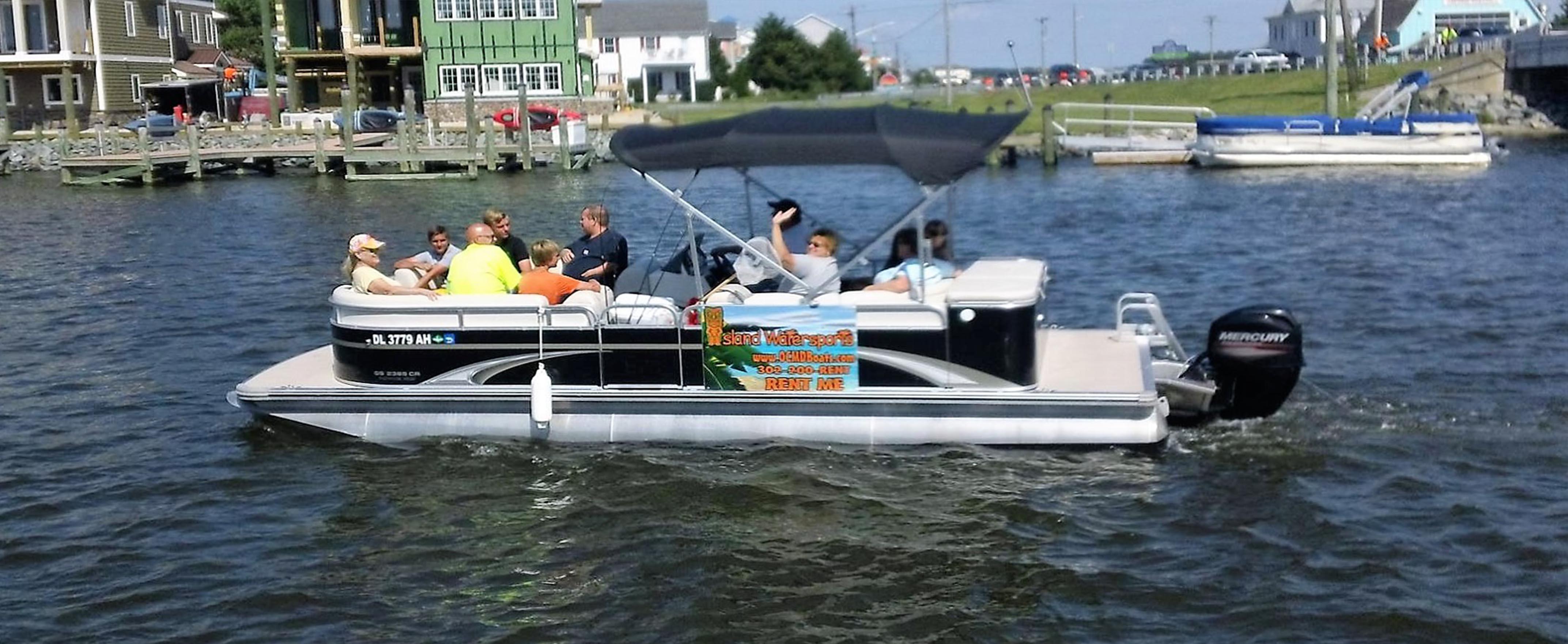 Pontoon Boat Rentals Fenwick Island DE | Ocean City MD