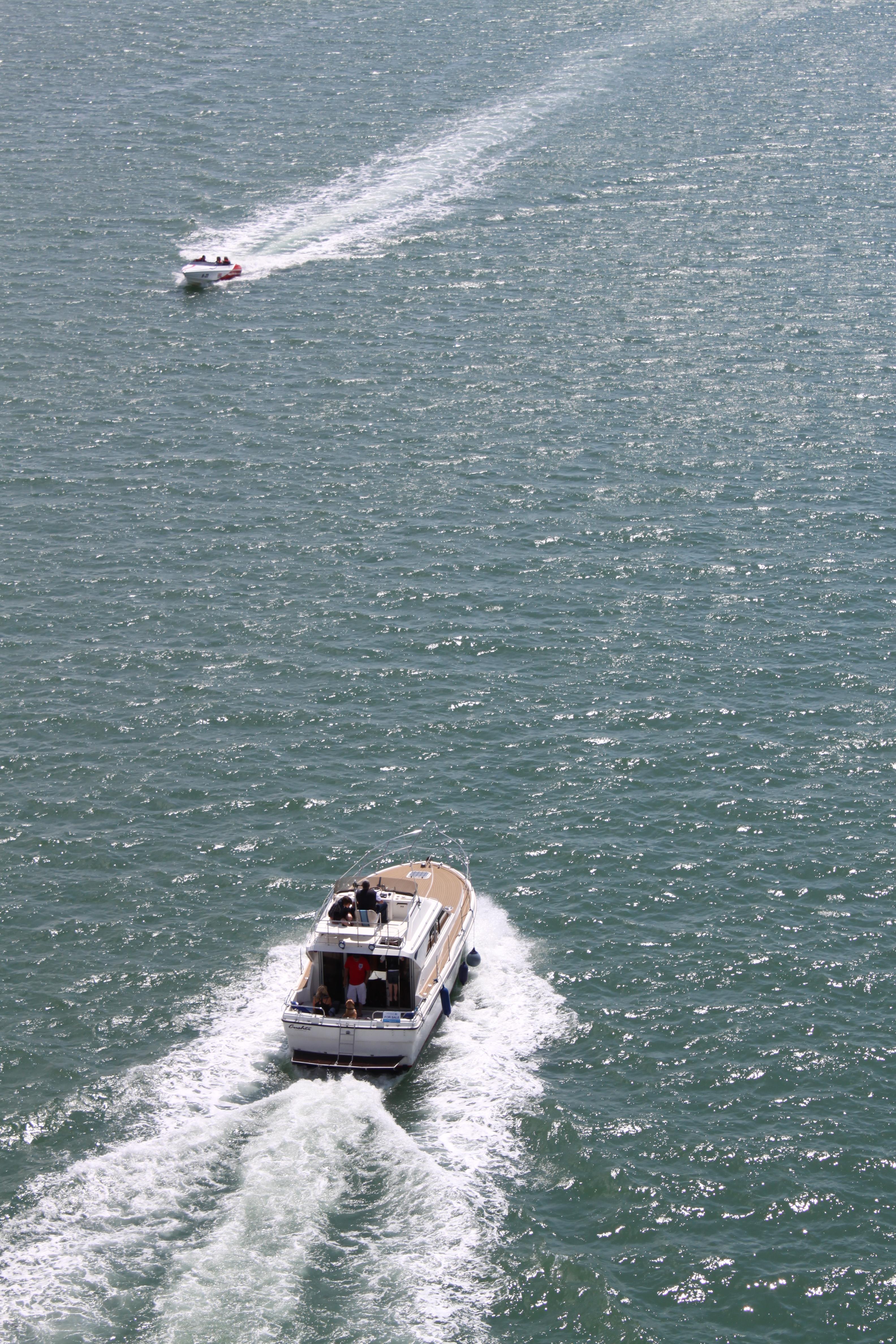 Boats at sea, Boats, Sailing, Sea, HQ Photo