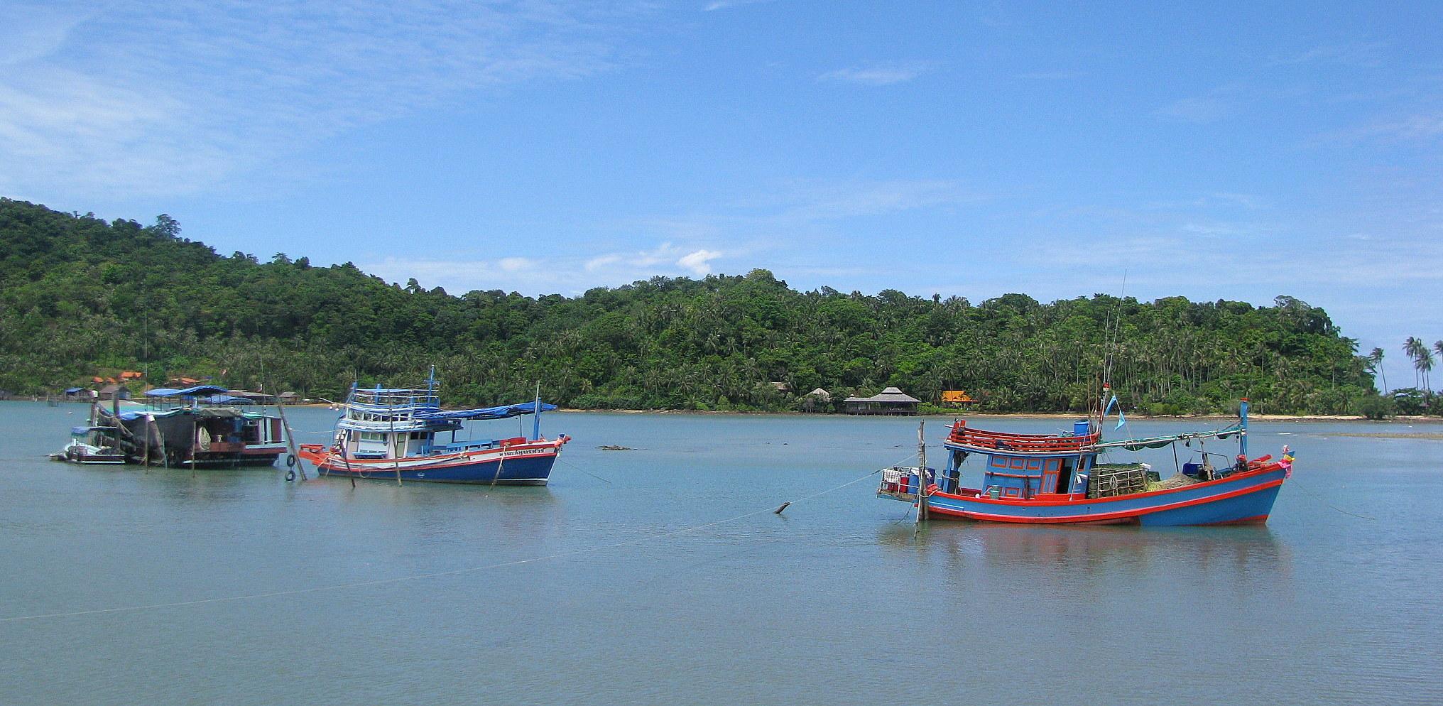 Boats in Bangbao, Africa, Bangbao, Boats, Fisherman, HQ Photo