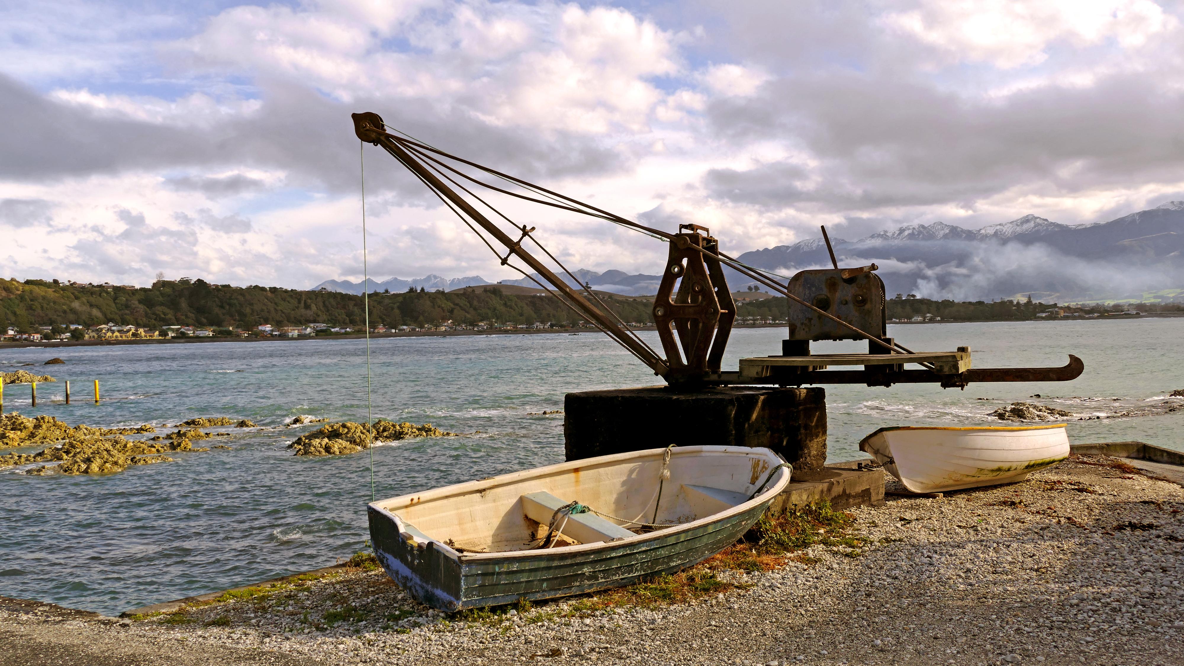Boats Kaikoura. NZ, Boat, Bridge camera, Free photos, Harbour, HQ Photo