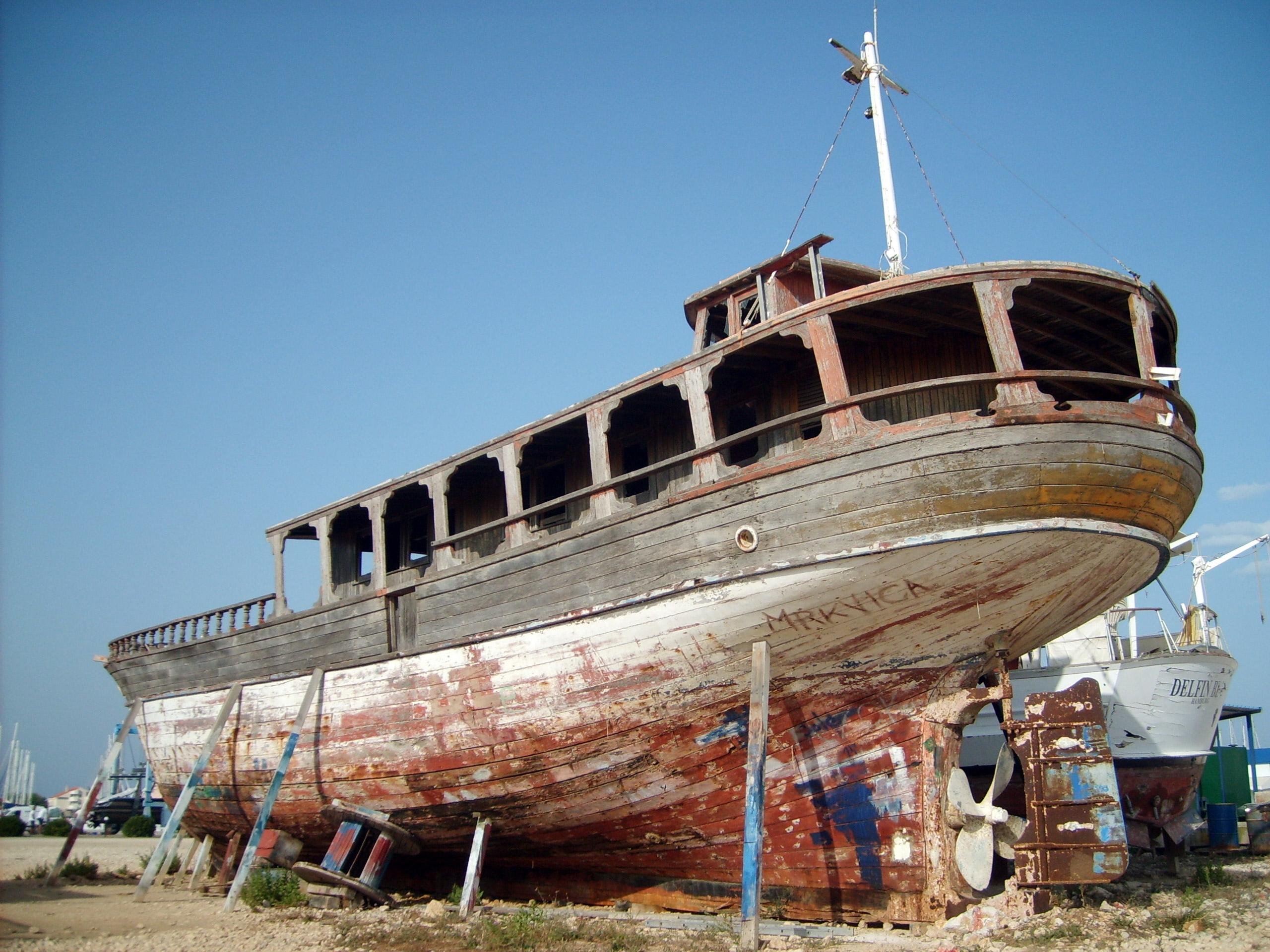 Free Image: Boat on dry land   Libreshot Public Domain Photos