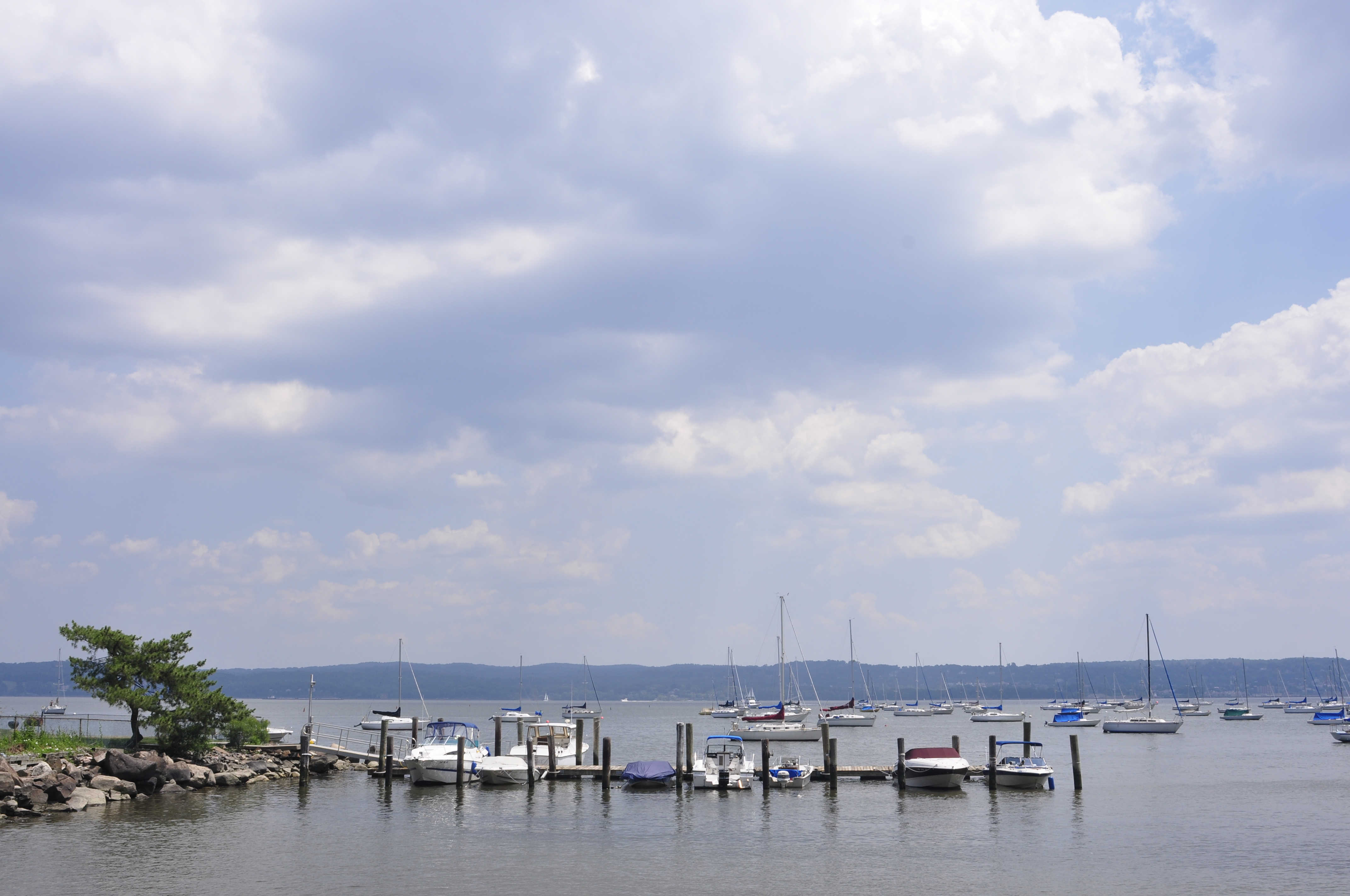 Boats on River, Blue, Boats, Color, Docked, HQ Photo