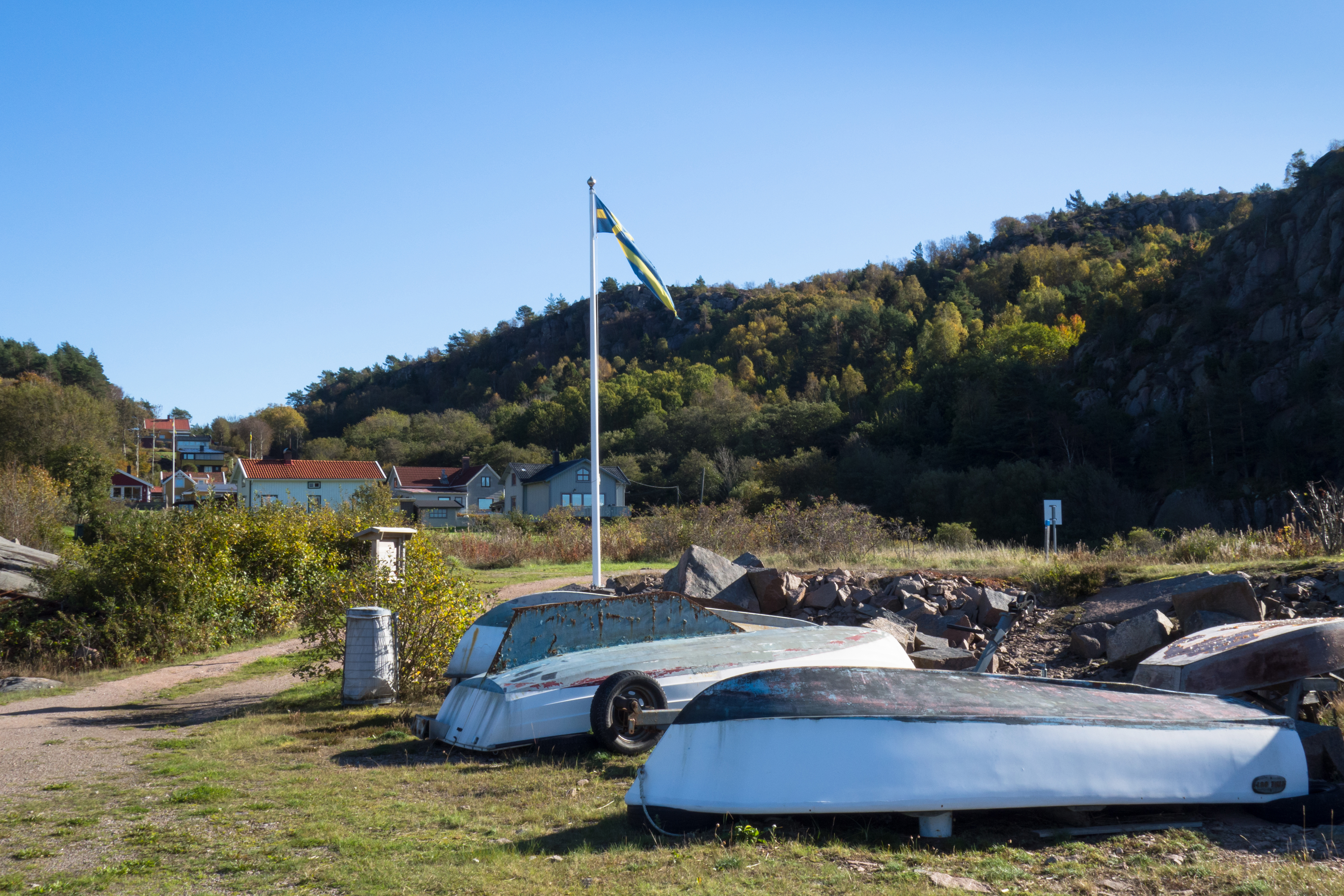 Boats up for winter in Loddebo, Boat, Boats, Car, Cliffs, HQ Photo