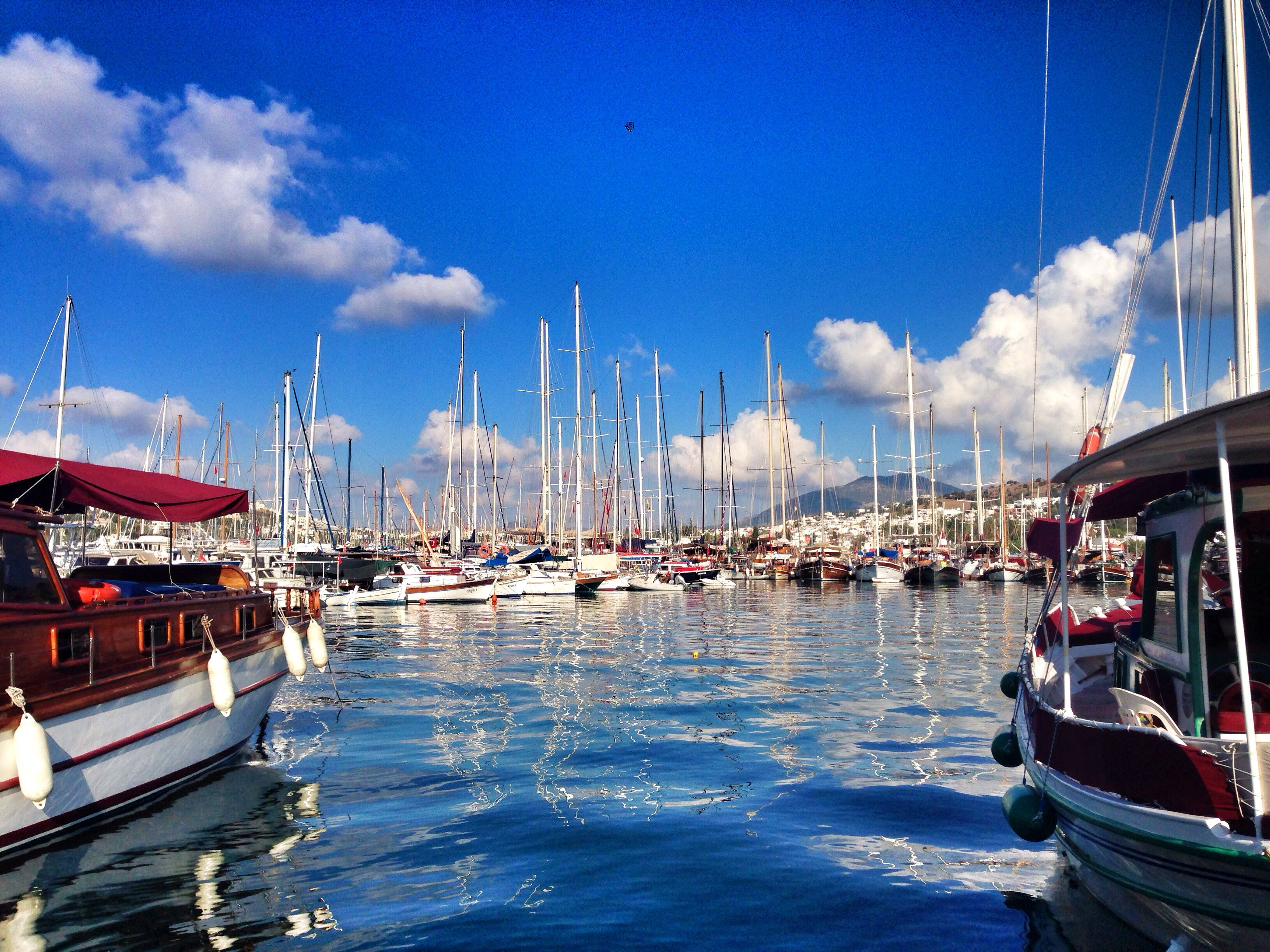 Bodrum/ marina #marin #summer #yachts #endlessblue #colors #nature ...