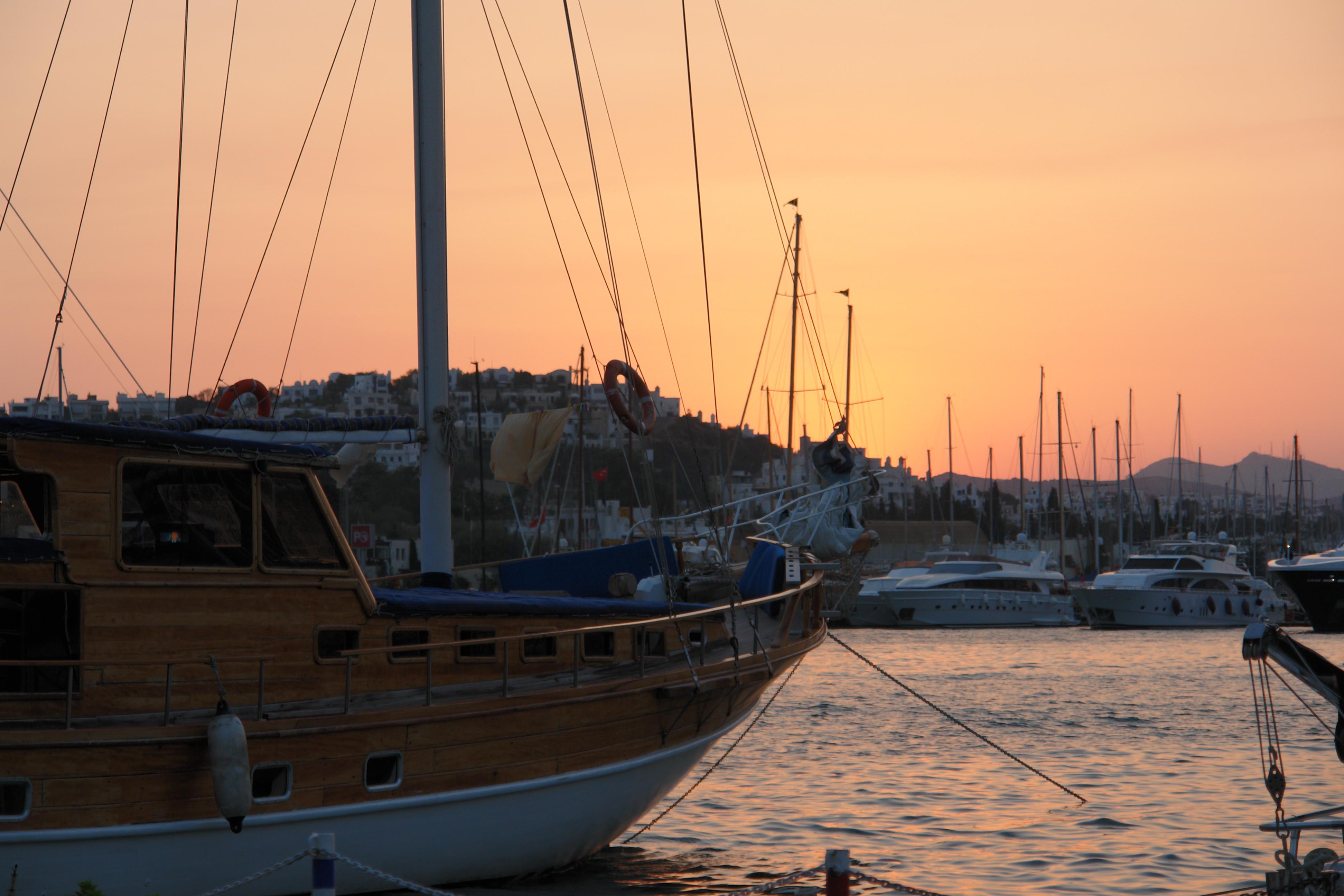 Bodrum yacht marina, Boats, Bodrum, Harbor, Marina, HQ Photo