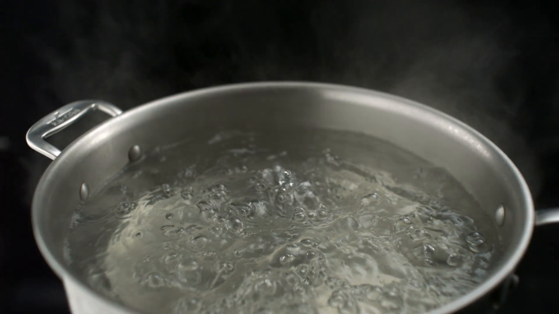 Boiling water in pot, Slow Motion Stock Video Footage - Videoblocks