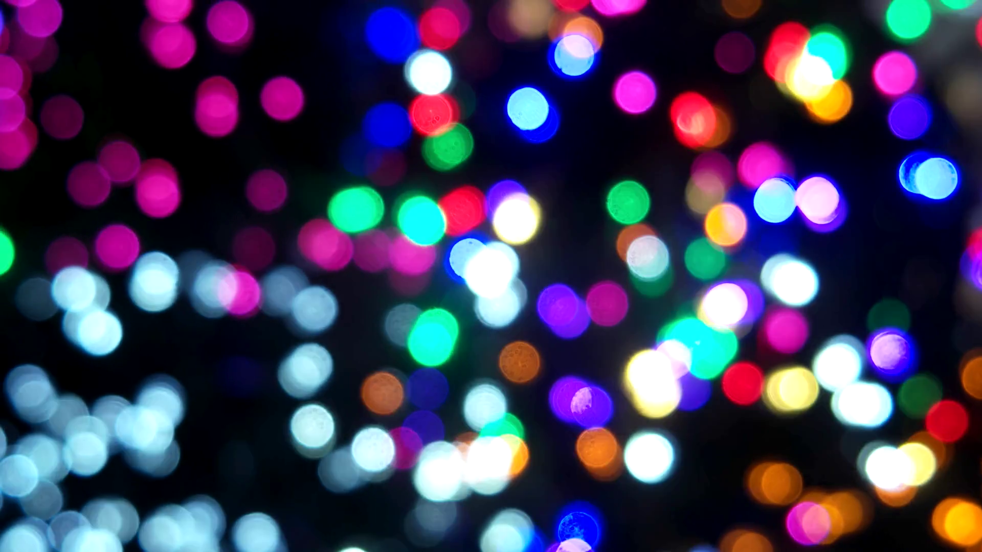 Colorful glowing lights. Bokeh background. Stock Video Footage ...