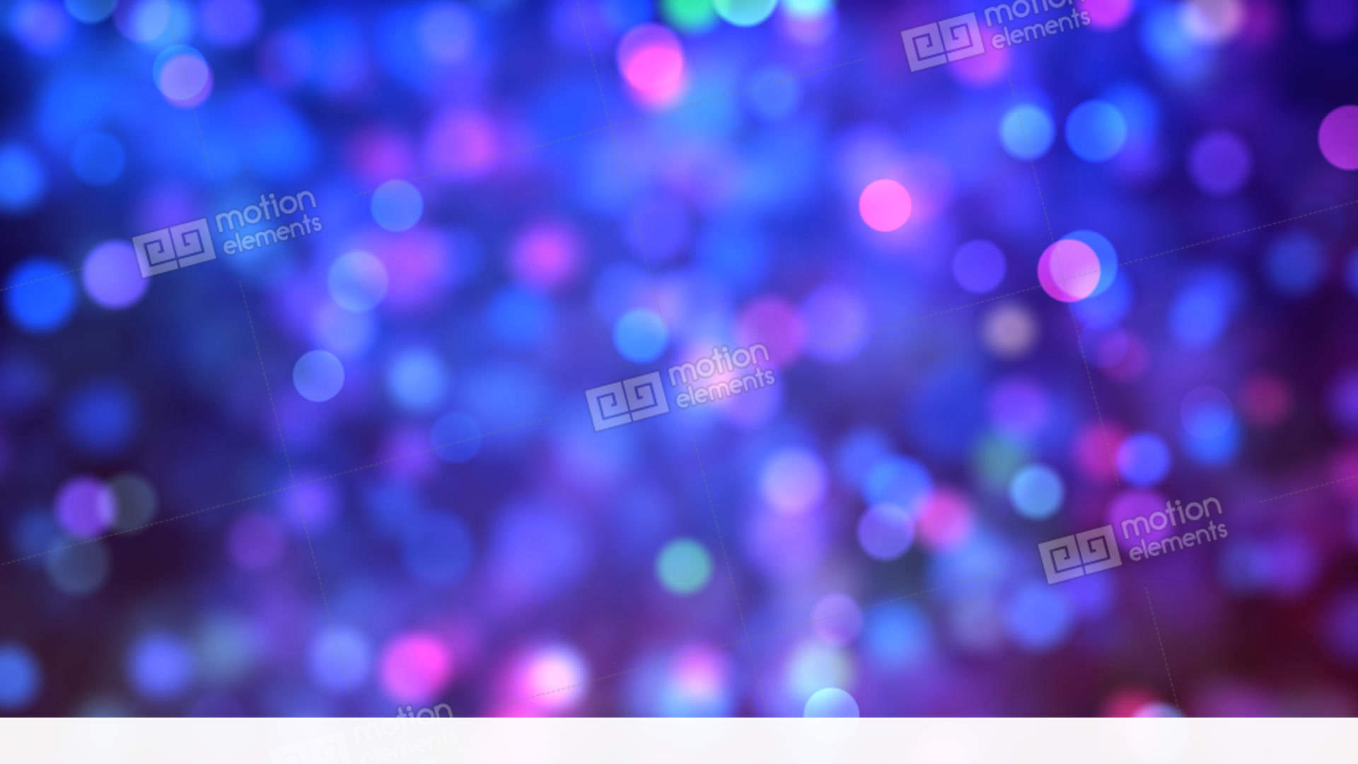 Blue & Pink Bokeh Background Loop Stock Animation | 11384989