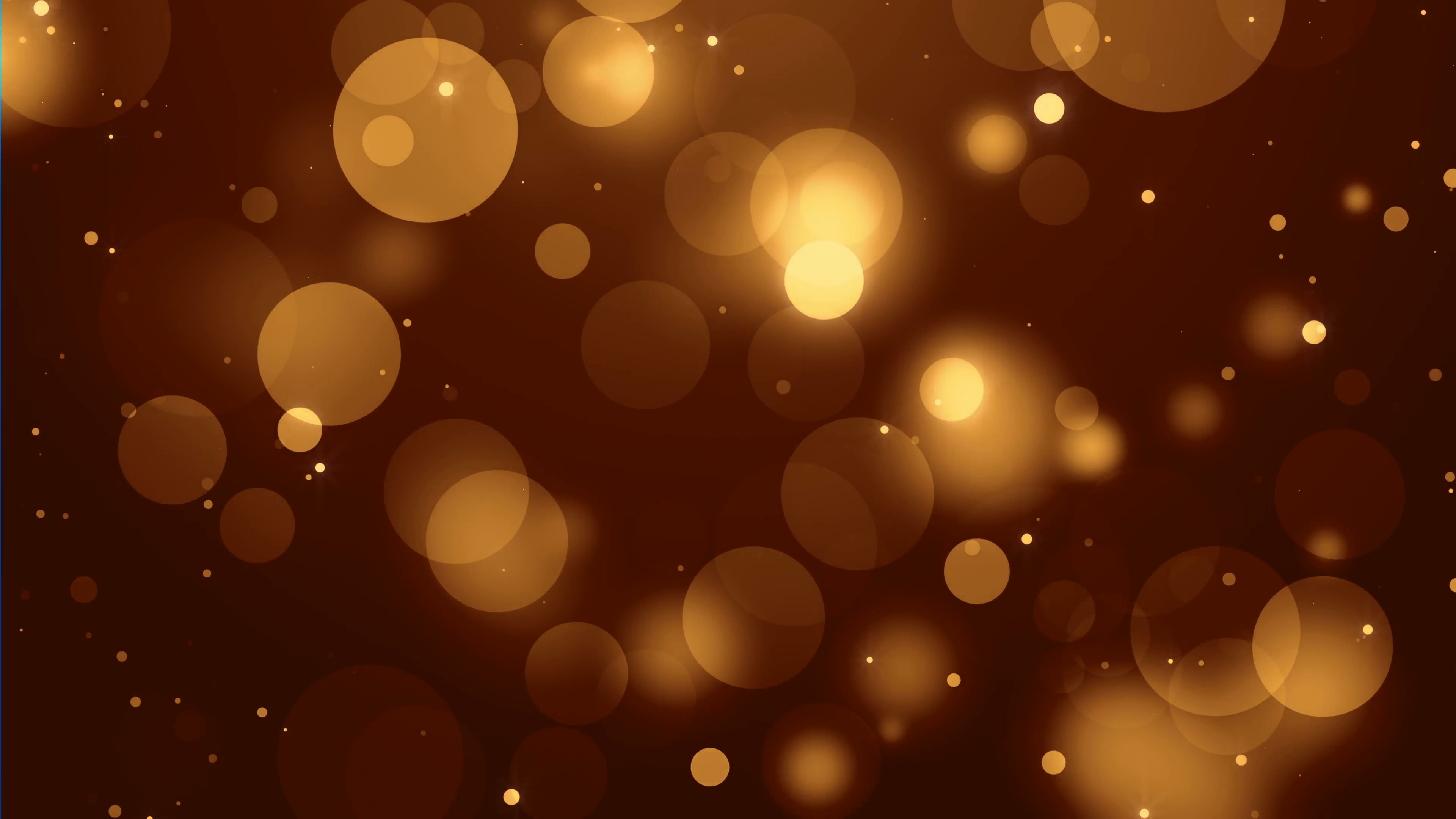 4k Gold Bokeh Animation Background Seamless Loop. Motion Background ...