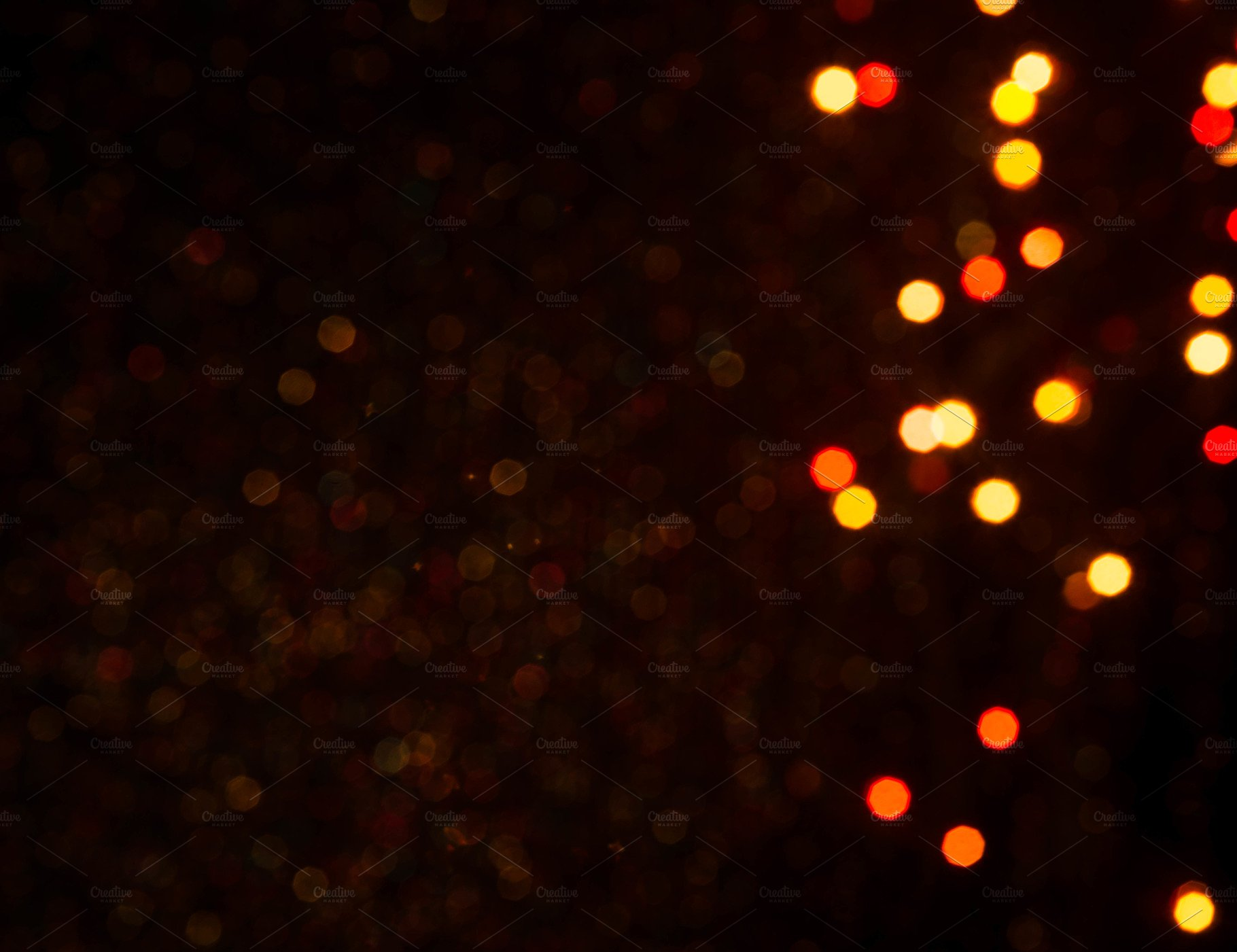 Abstract festive bokeh background ~ Holiday Photos ~ Creative Market