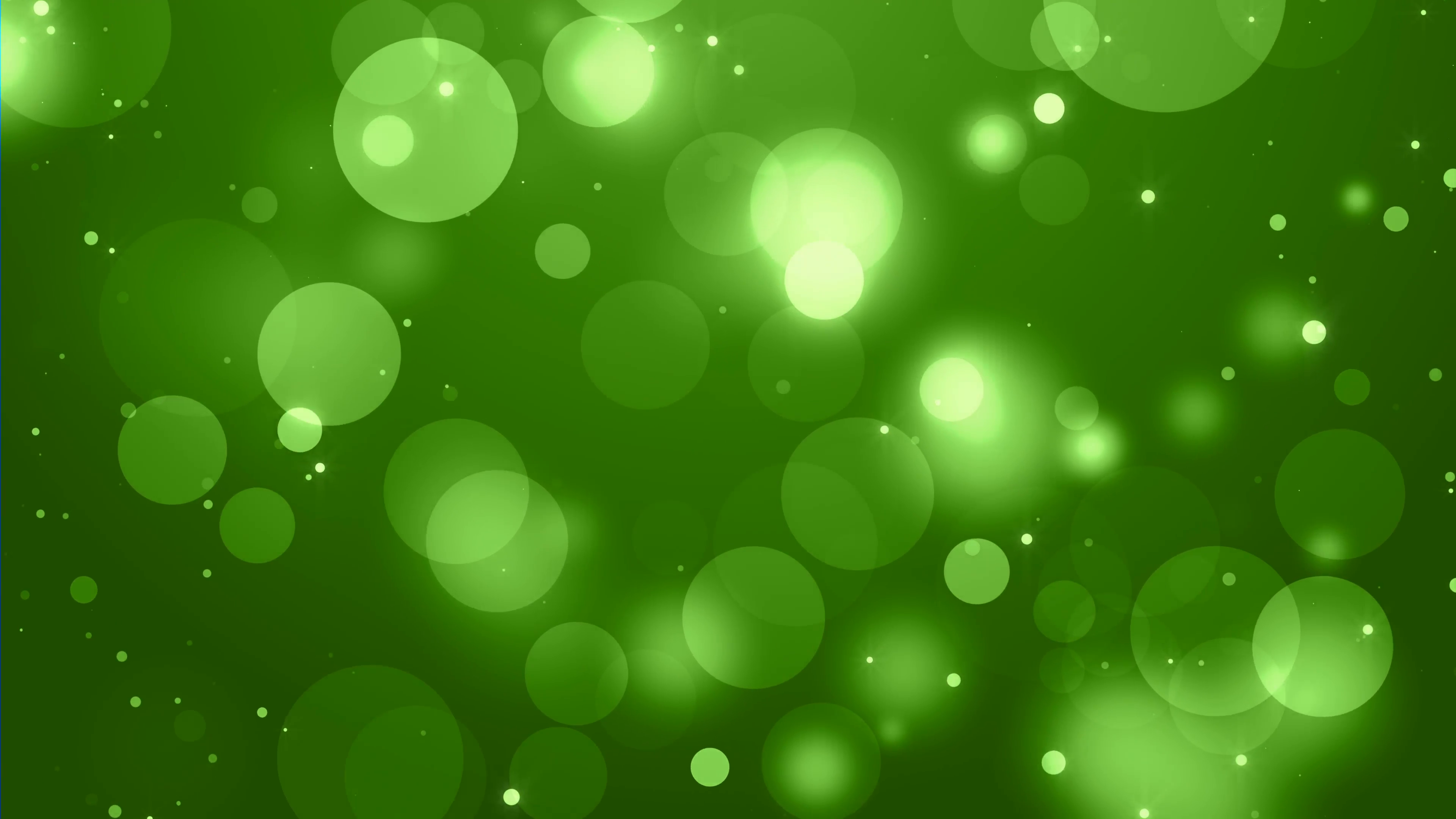 green bokeh circles loop background Motion Background - Videoblocks