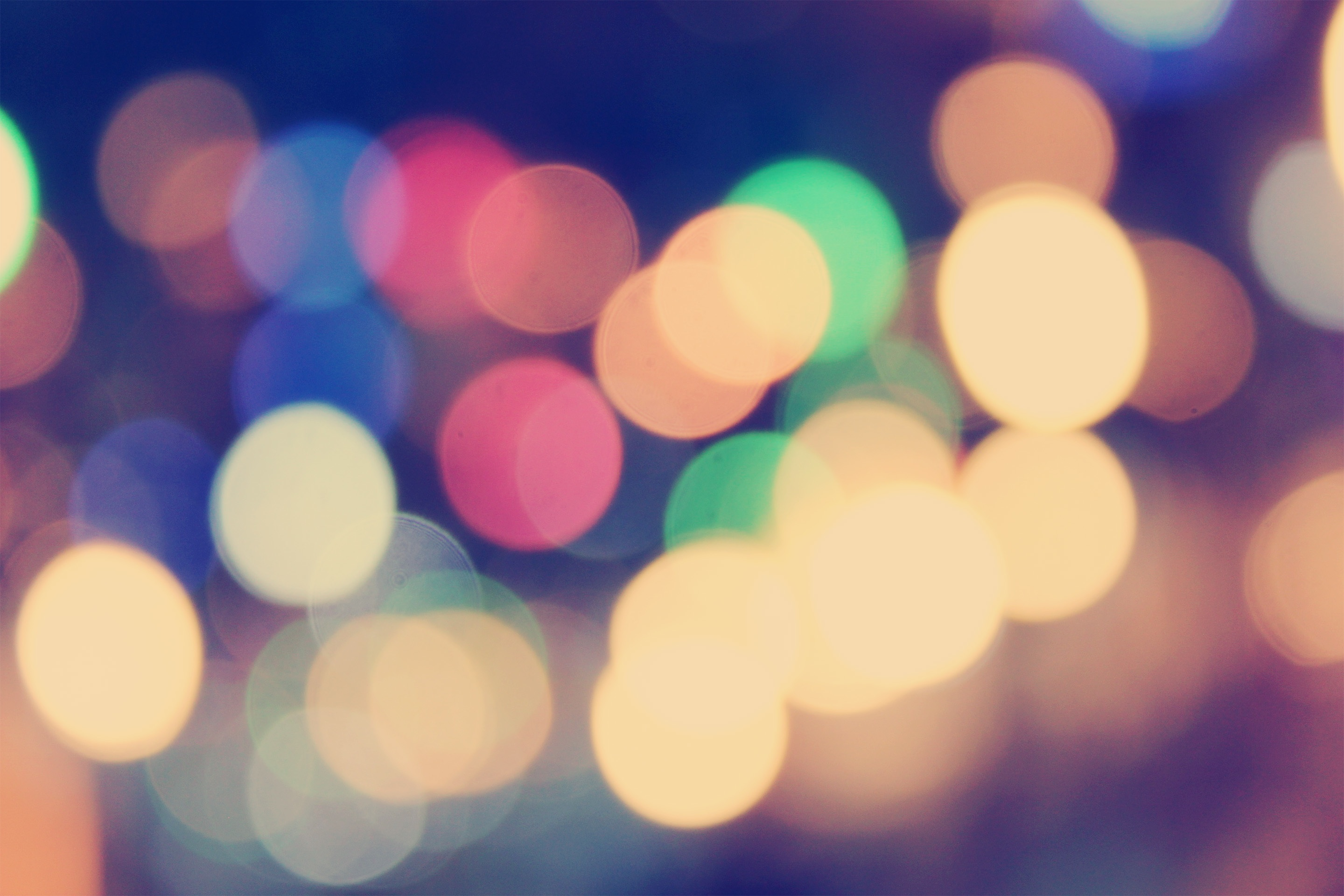 Free photo: Bokeh Effect - Lights, Round, Effect - Free