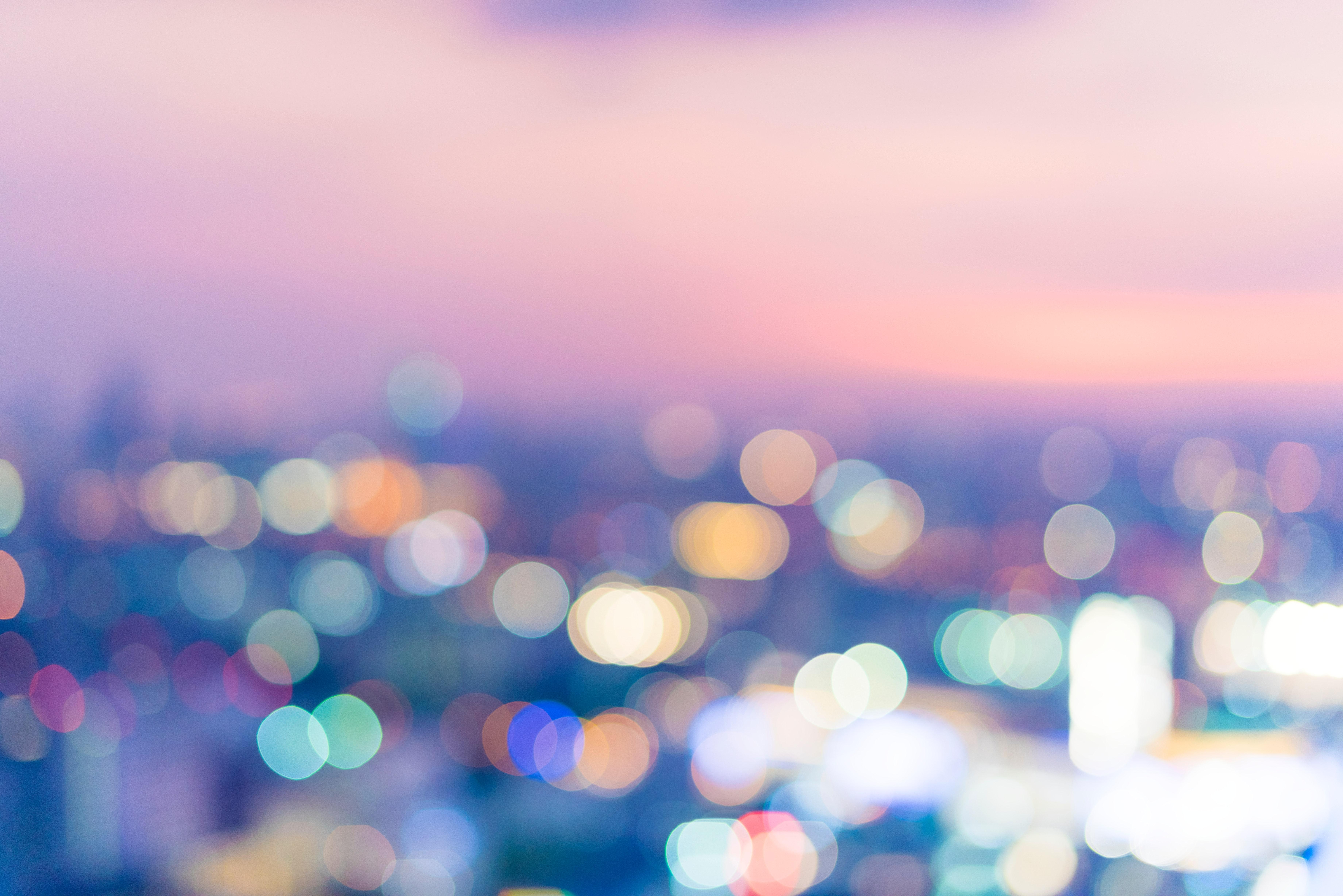 Bokeh Photography Effect, Blur, Blurred, Bokeh, Colorful, HQ Photo