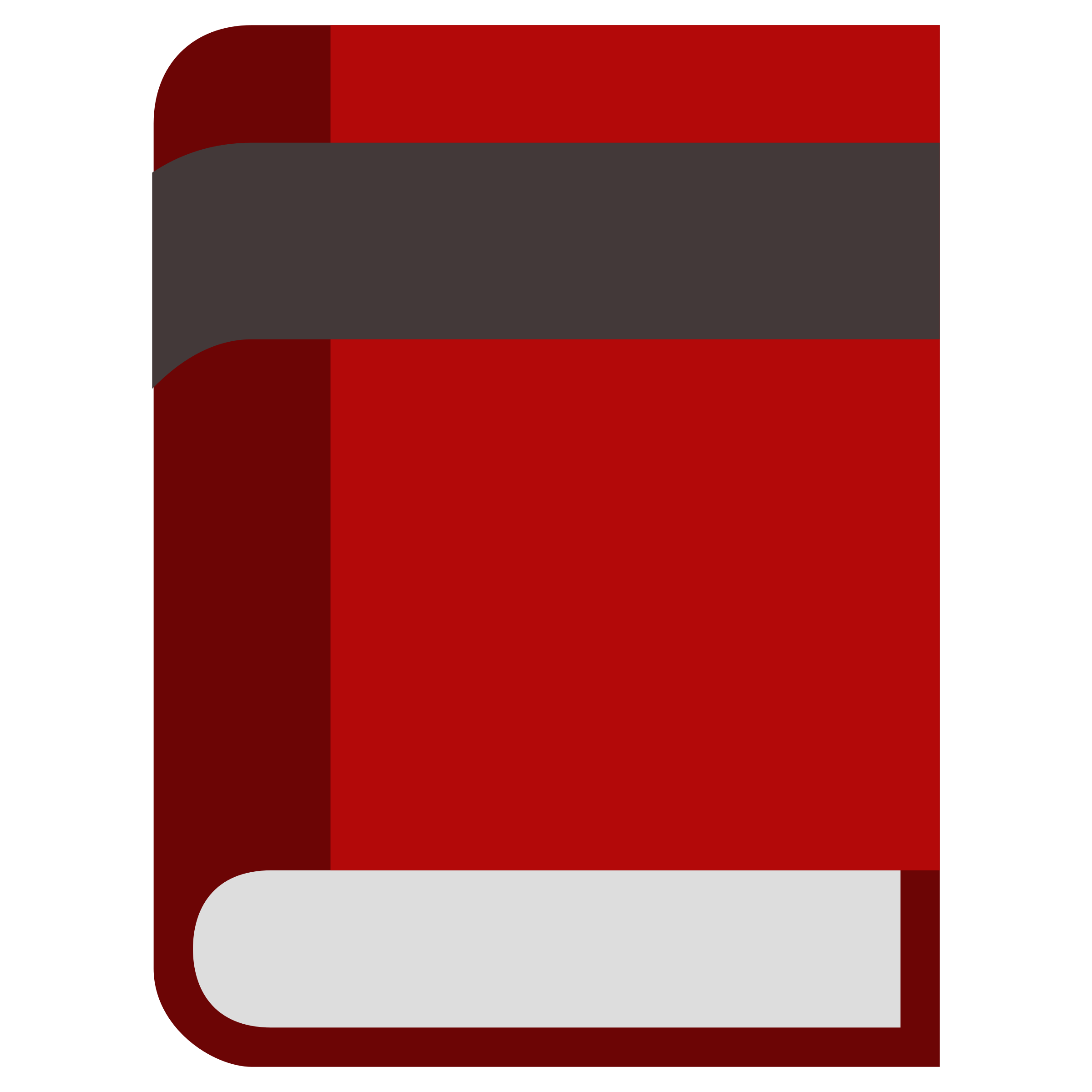 Clipart - Red Book