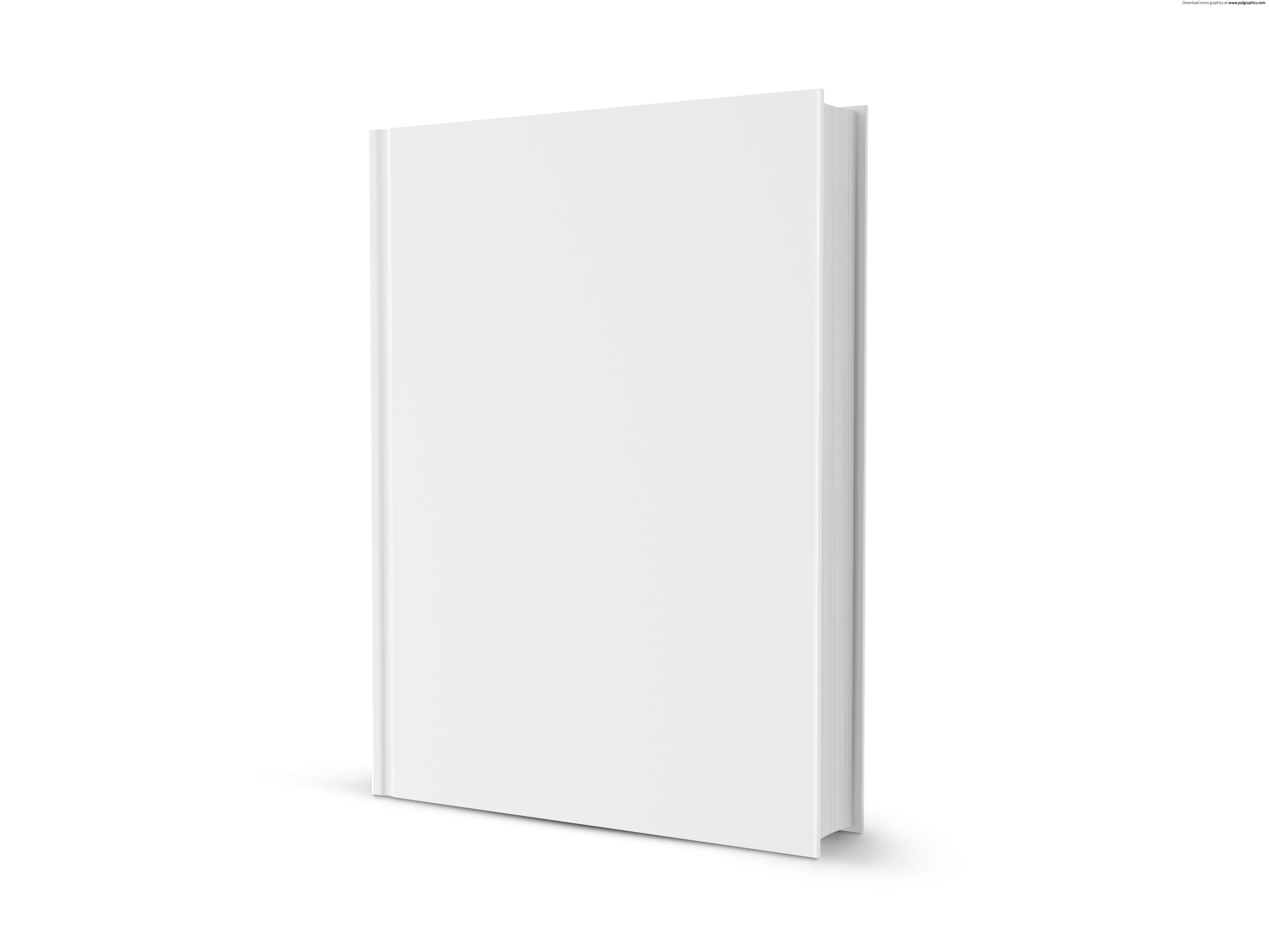 Blank white book | PSDGraphics