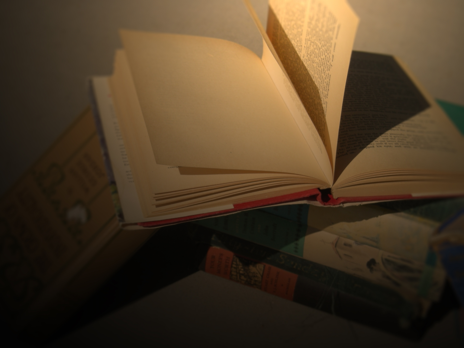 Books, Blank, Book, Open, Shadow, HQ Photo