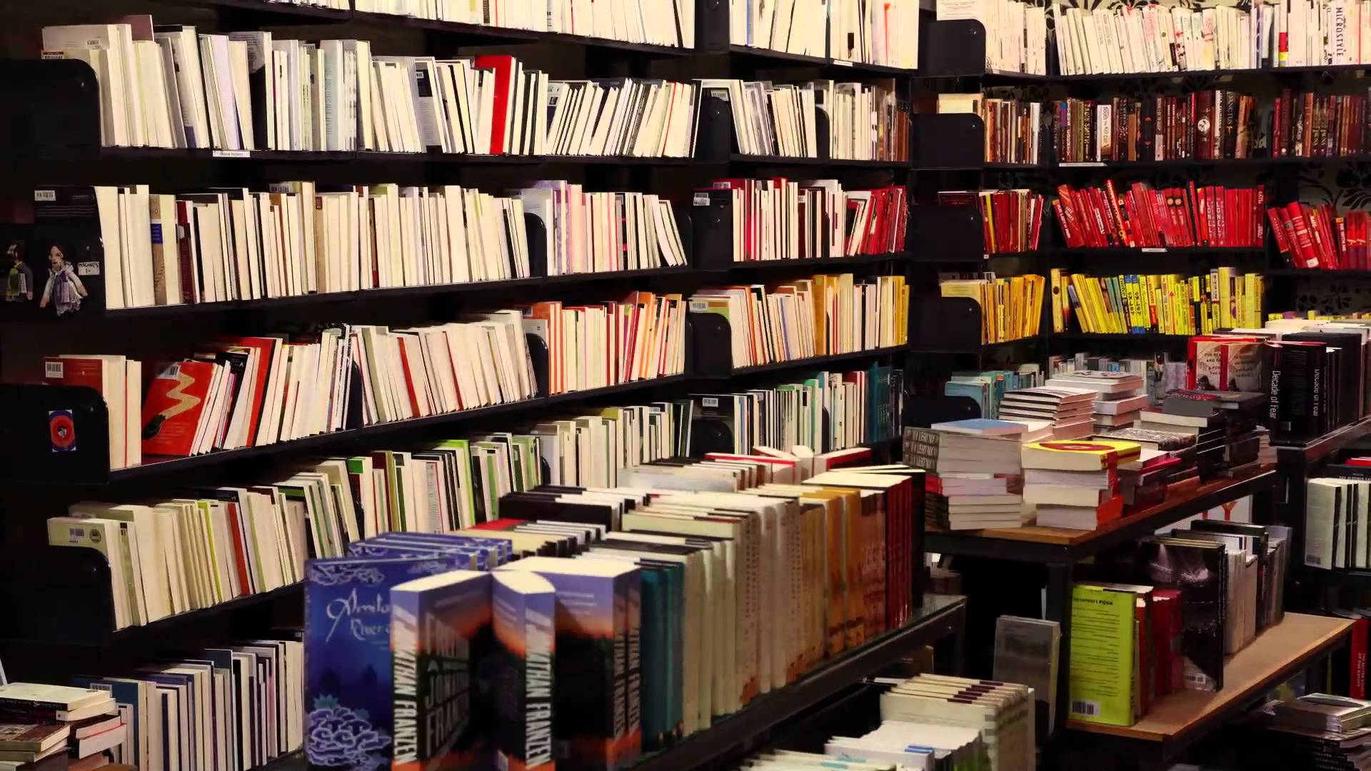 A bookshop comes alive at night: The Joy of Books | The Kid Should ...