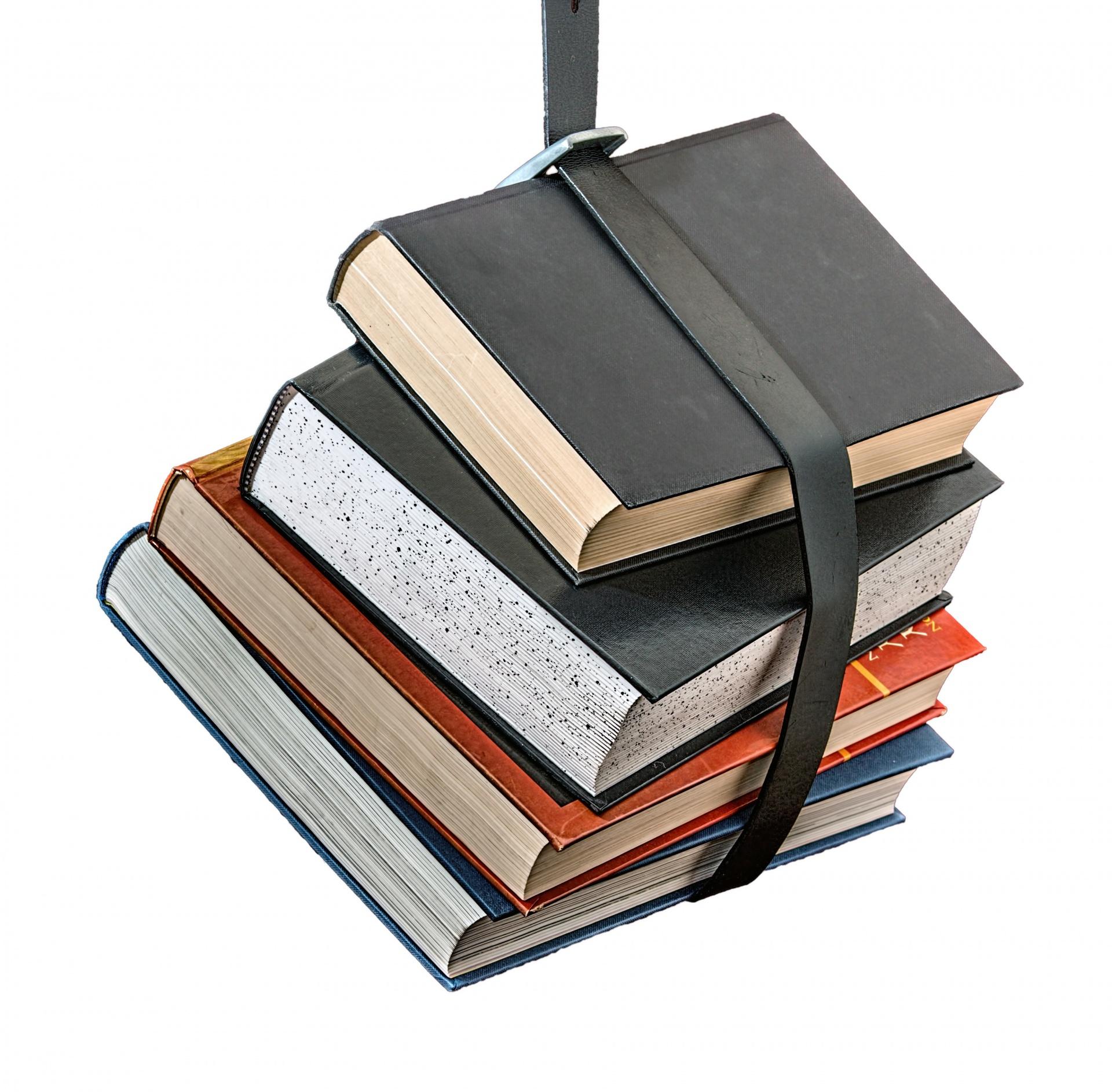 Books Isolated On White Background Free Stock Photo - Public Domain ...