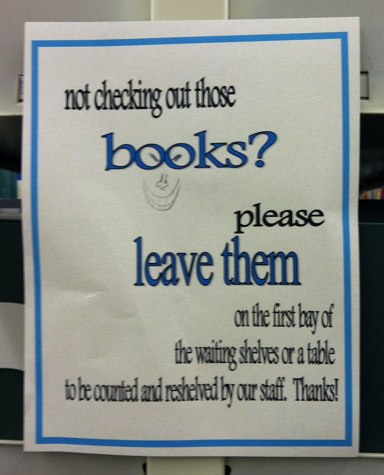 Books signage photo
