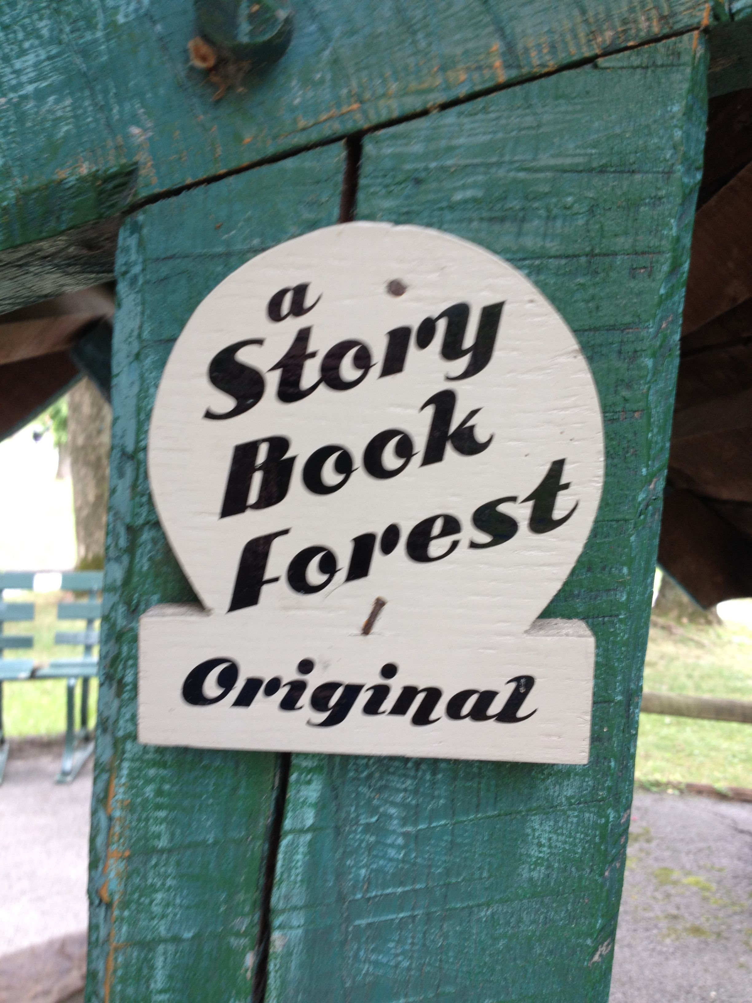 Story Book Forest, Idlewild Park, Ligonier, PA | Signage | Pinterest