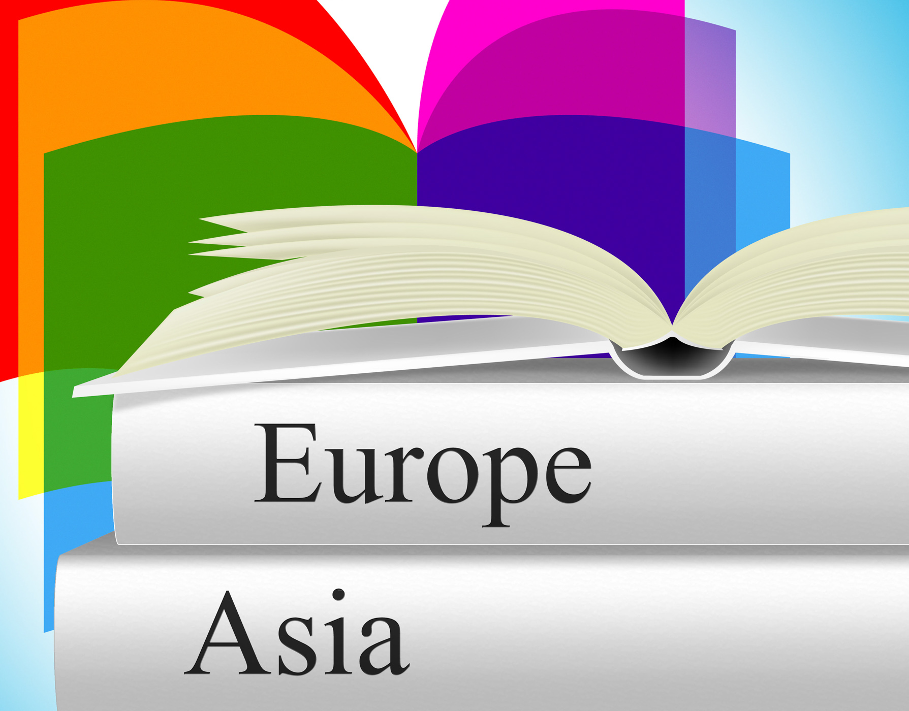 Books travel indicates asia voyage and fiction photo