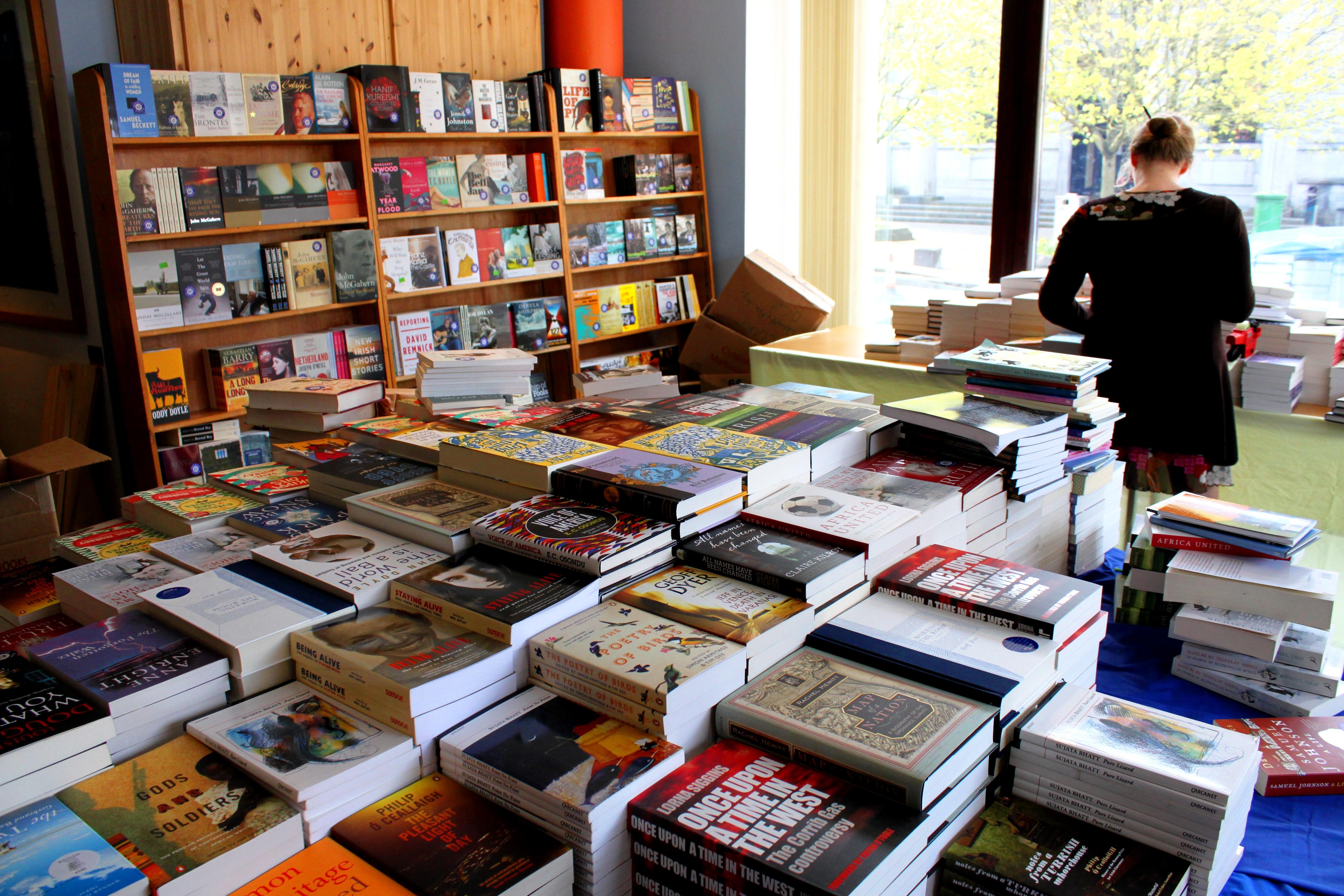 Bookshop photo