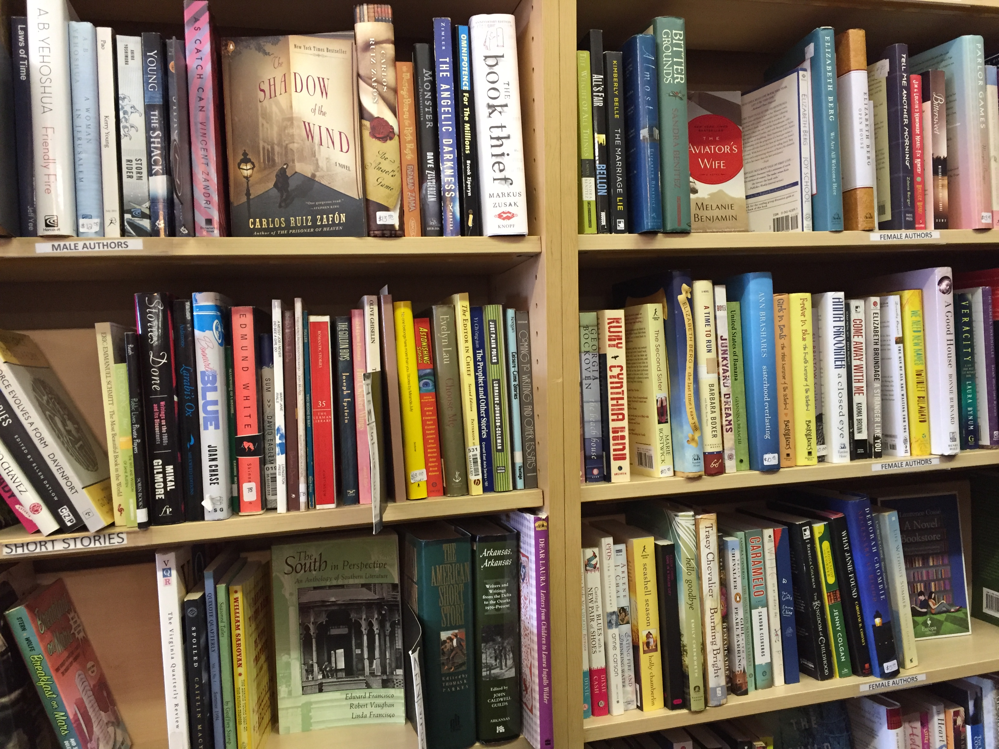 2-10 talk story bookstore shelves | another eye opens