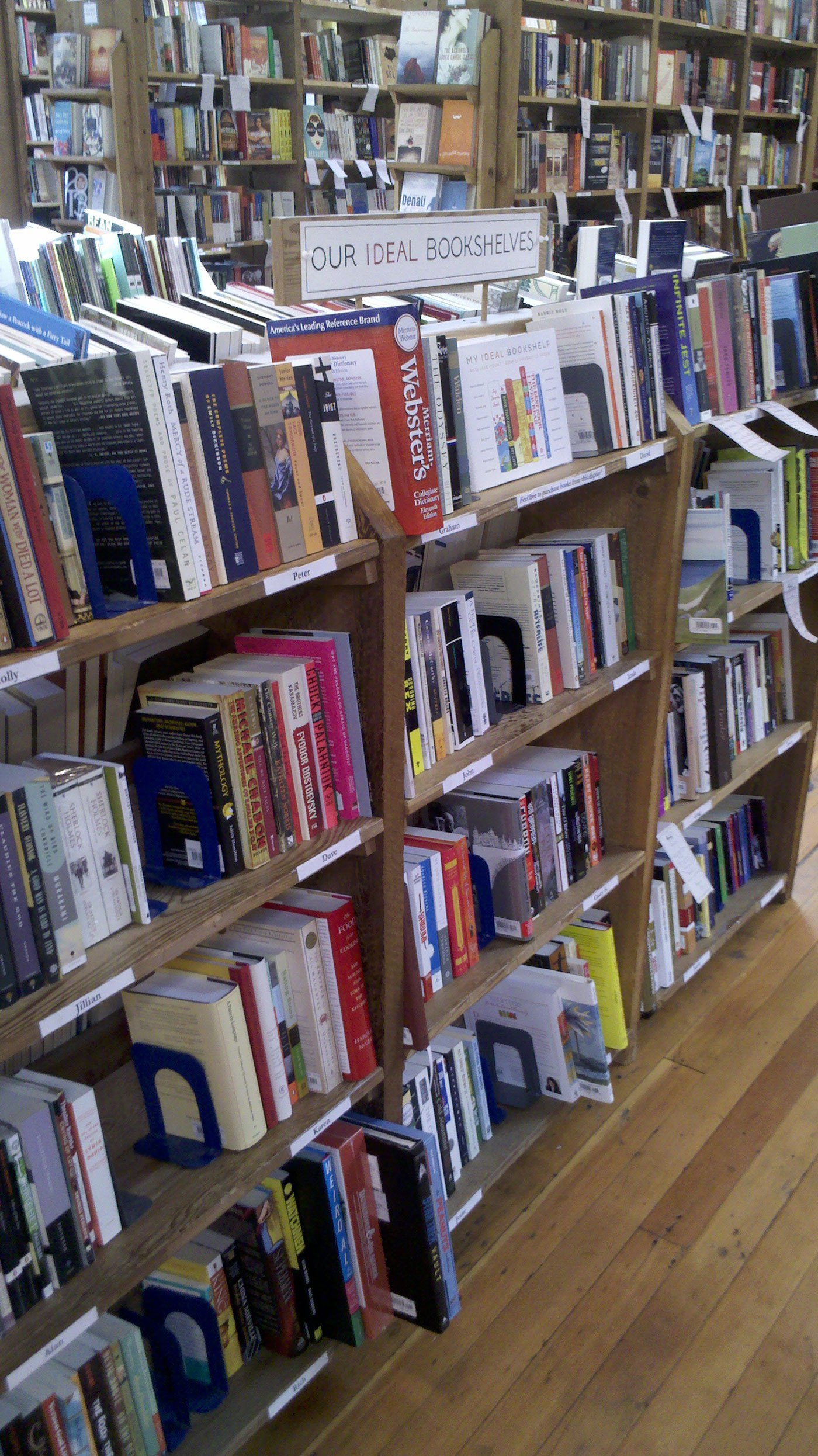 Peek at the Staff Picks Shelves From Indie Bookstores All Over ...