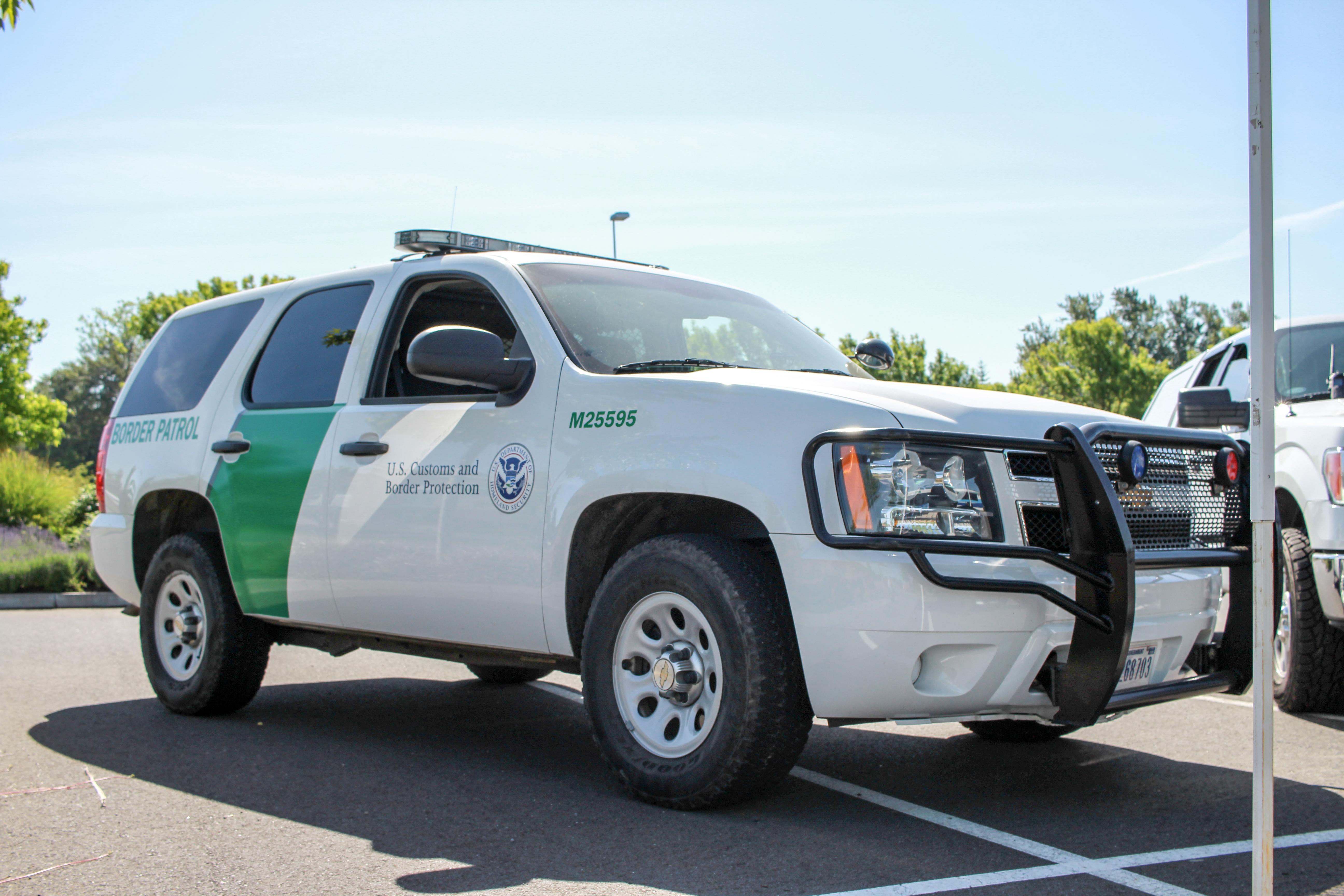 Border patrol chevrolet tahoe photo