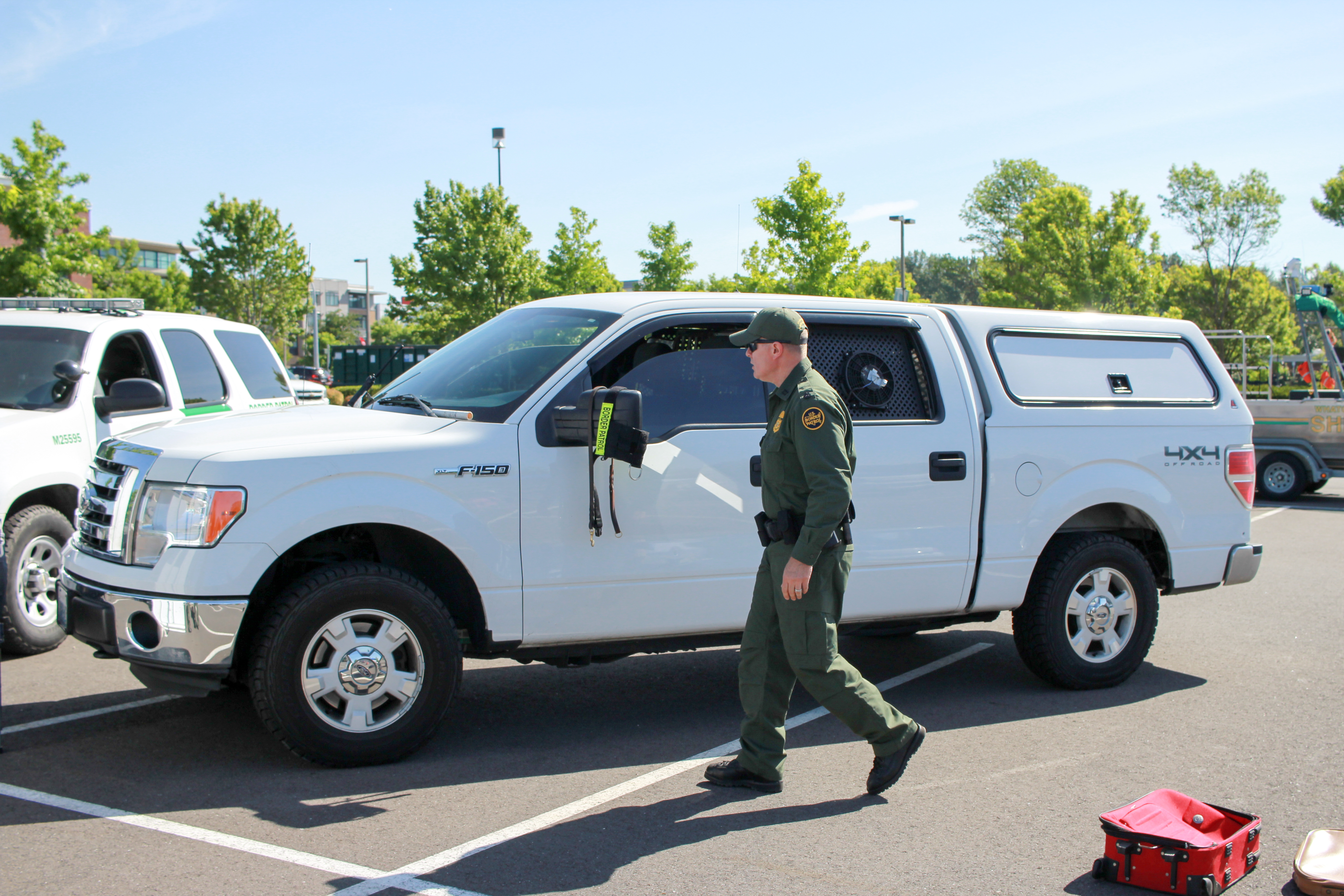 Border Patrol Unmarked K9 Unit, Blaine Sector, Border Patrol, Car, CBP, HQ Photo