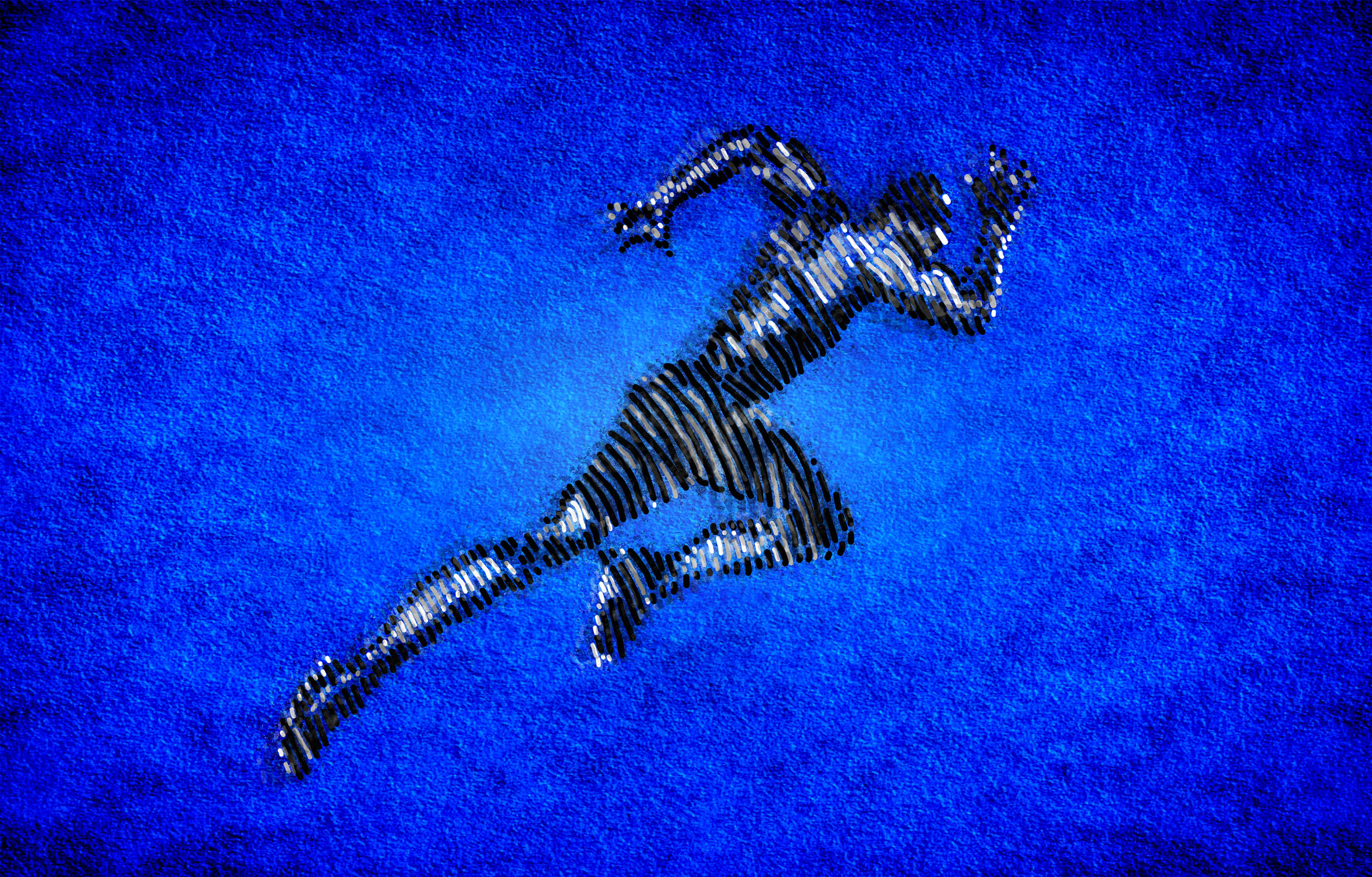 Born to run - male athlete sprinting photo