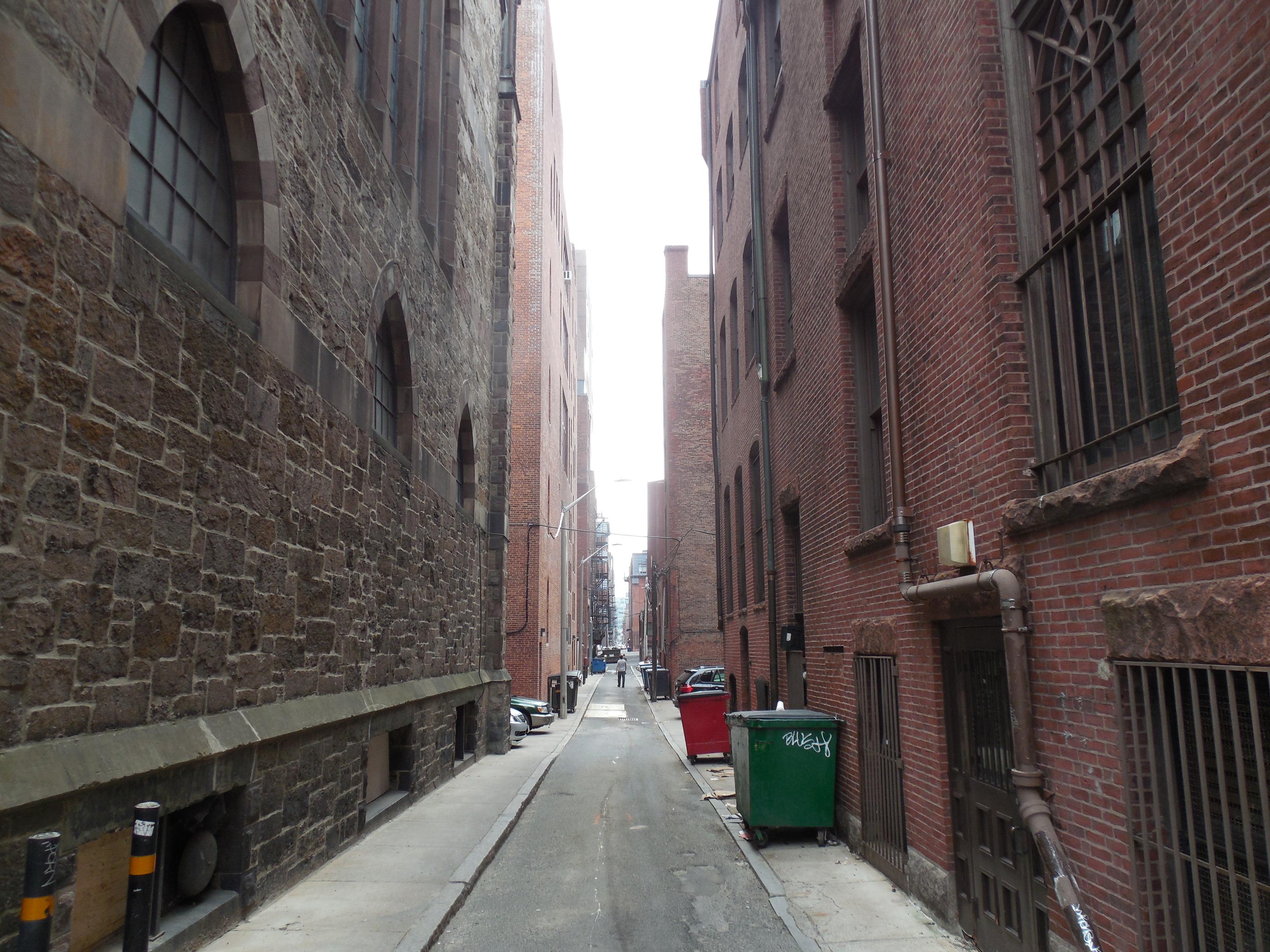 Boston alley photo