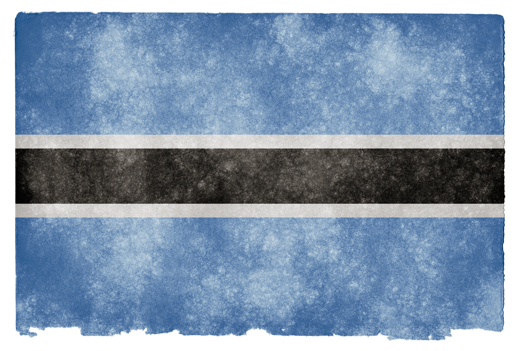 Botswana Grunge Flag, Africa, Proud, Isolated, Nation, HQ Photo