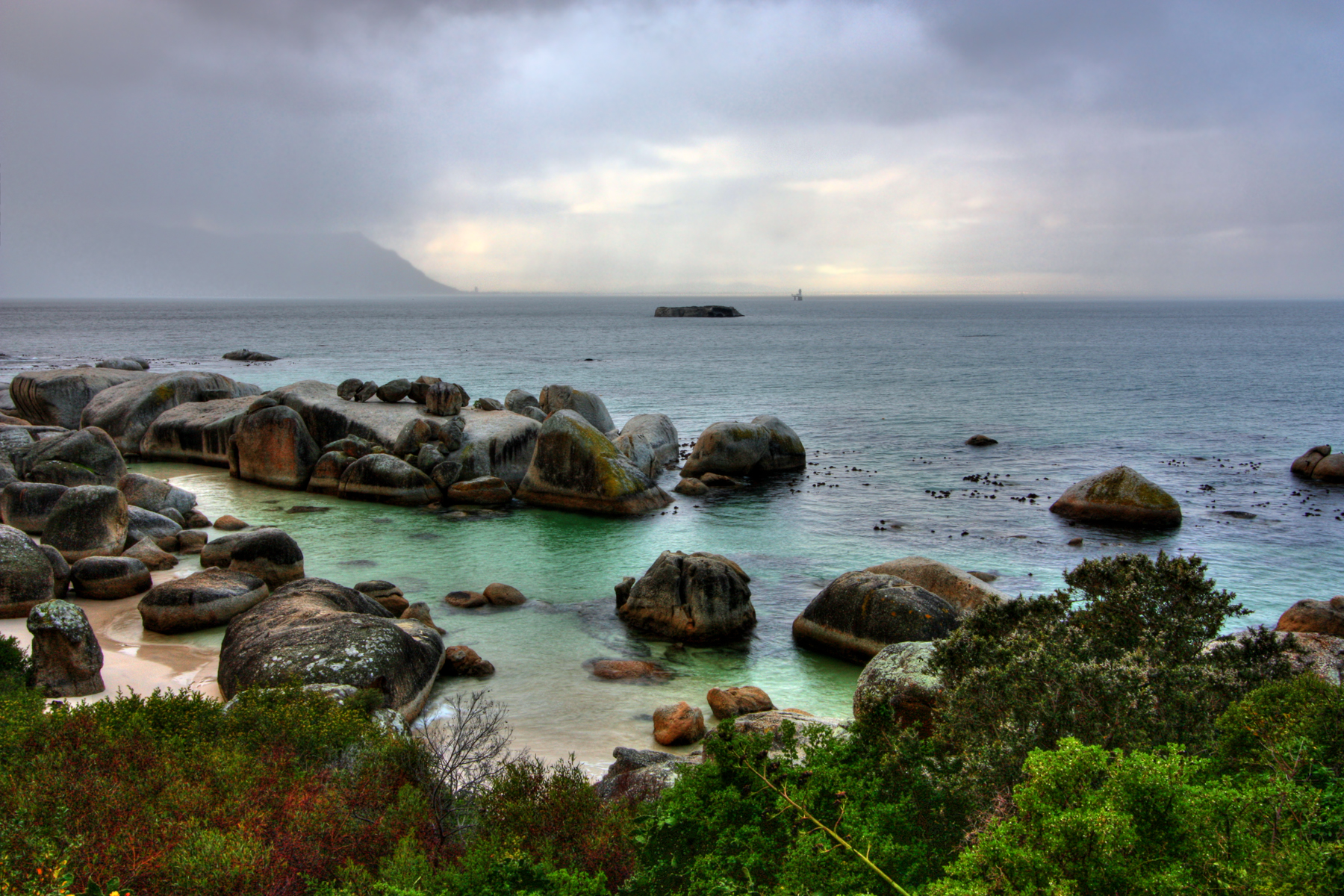 Boulders beach - hdr photo