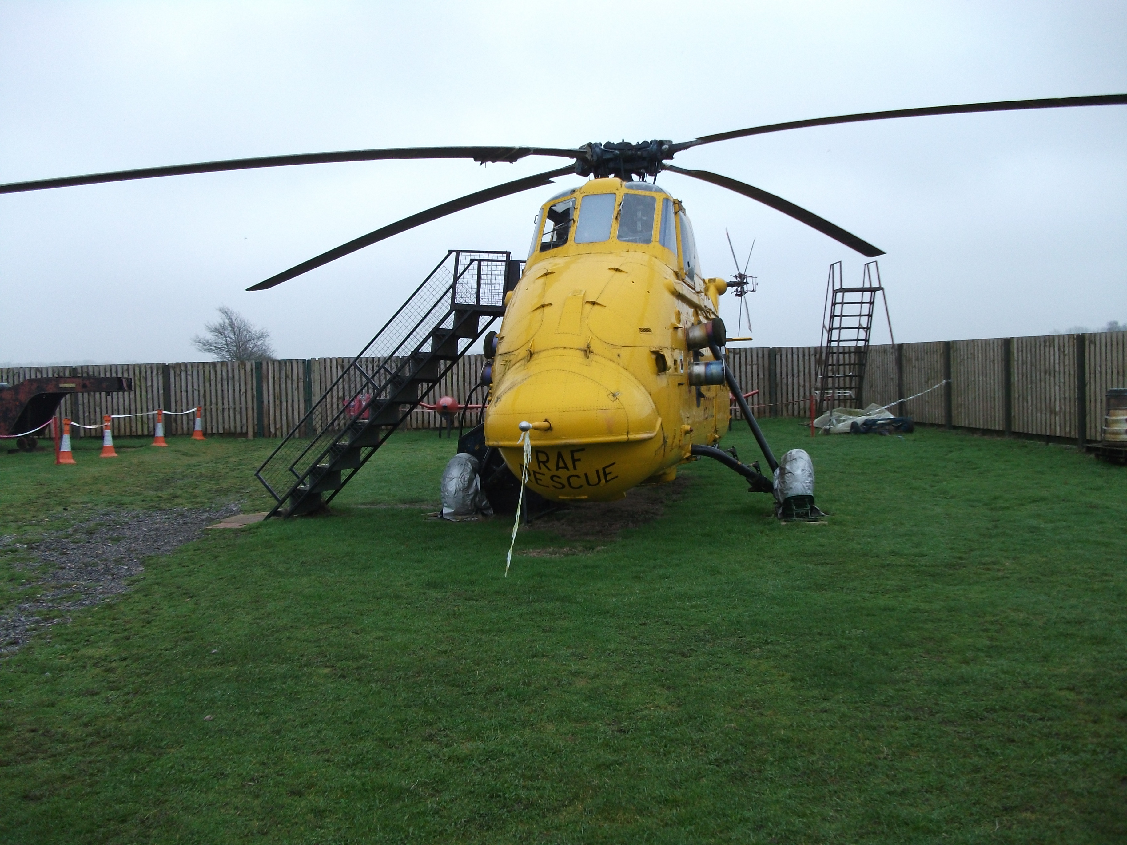 Bournemouth aviation museum, vehicle, rotor blade, outdoor, old, HQ Photo