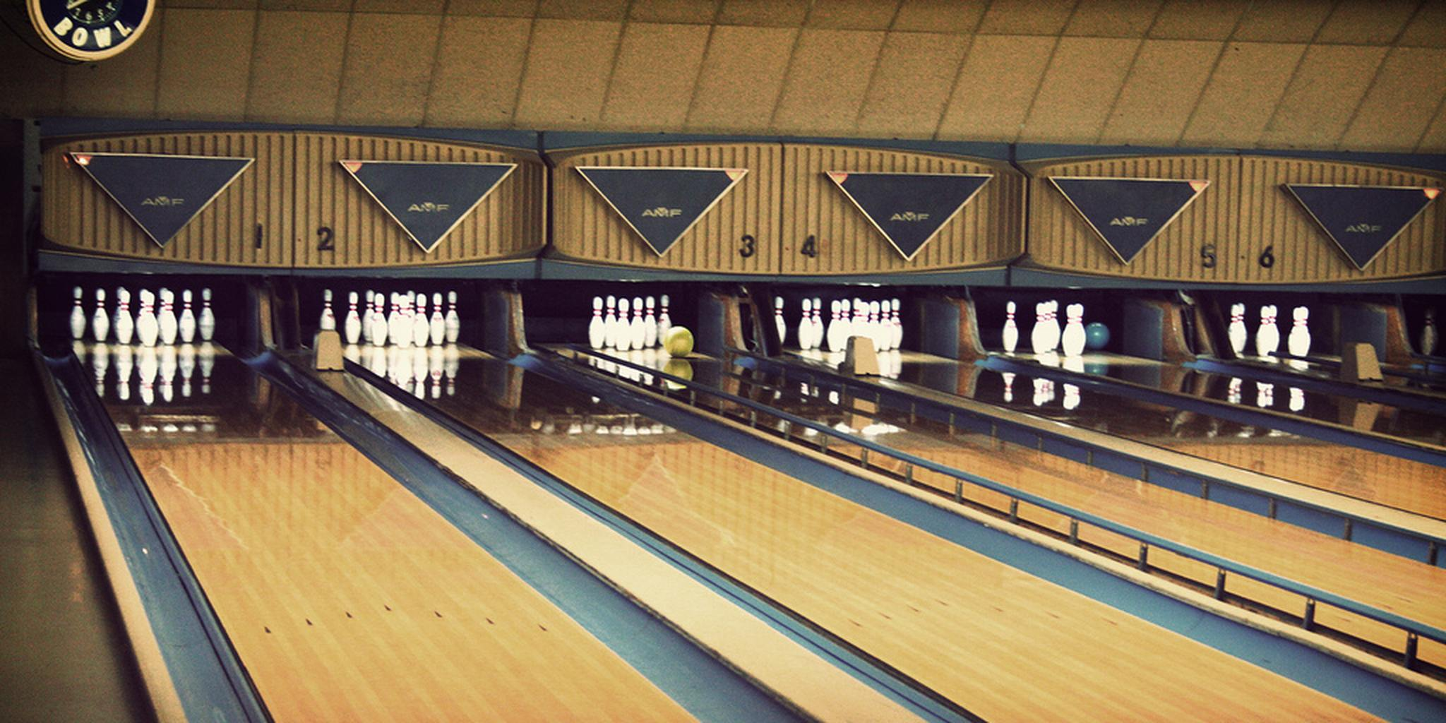 Bowling alley photo