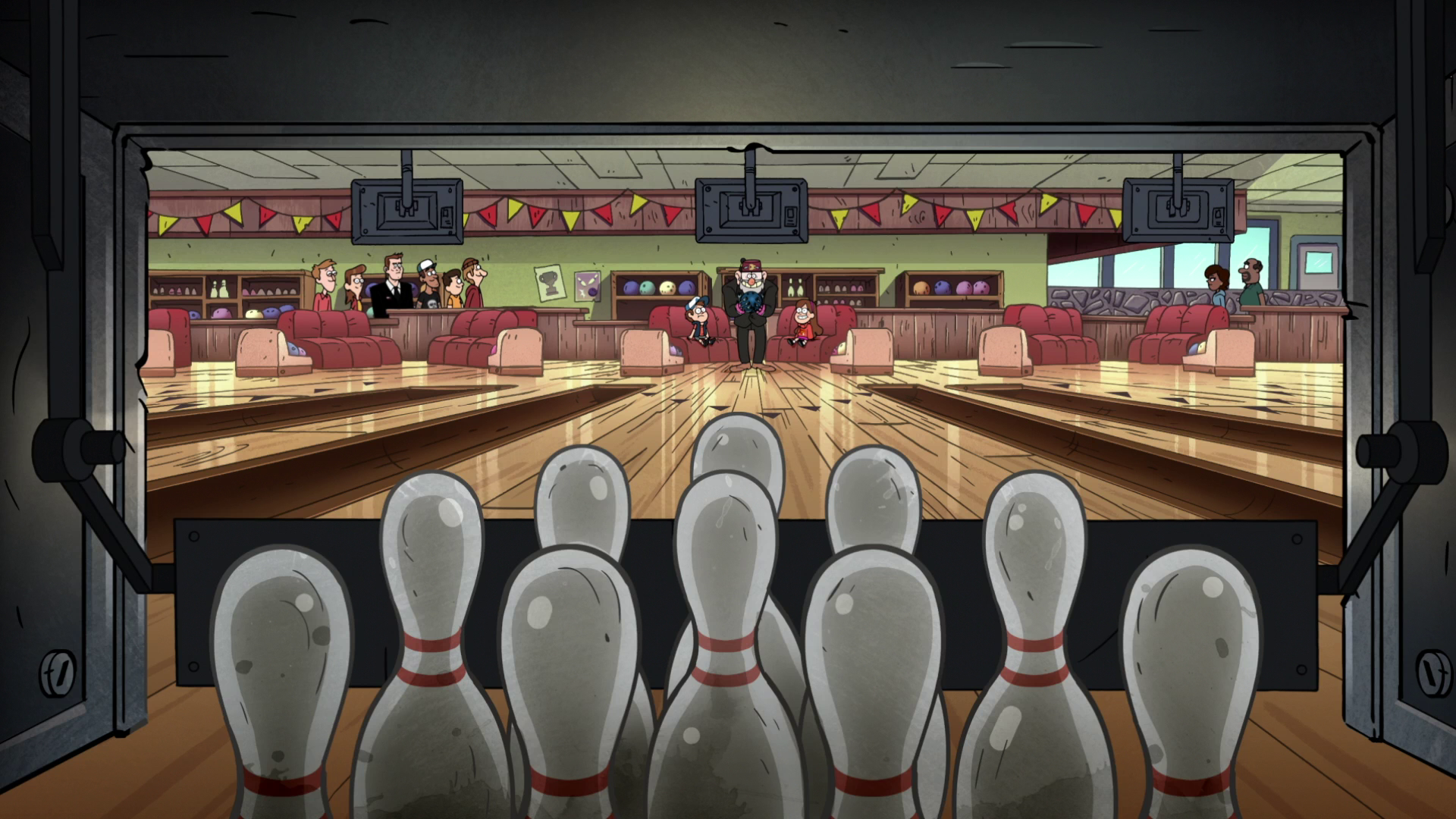 Image - S2e6 trigger at alley.png | Gravity Falls Wiki | FANDOM ...
