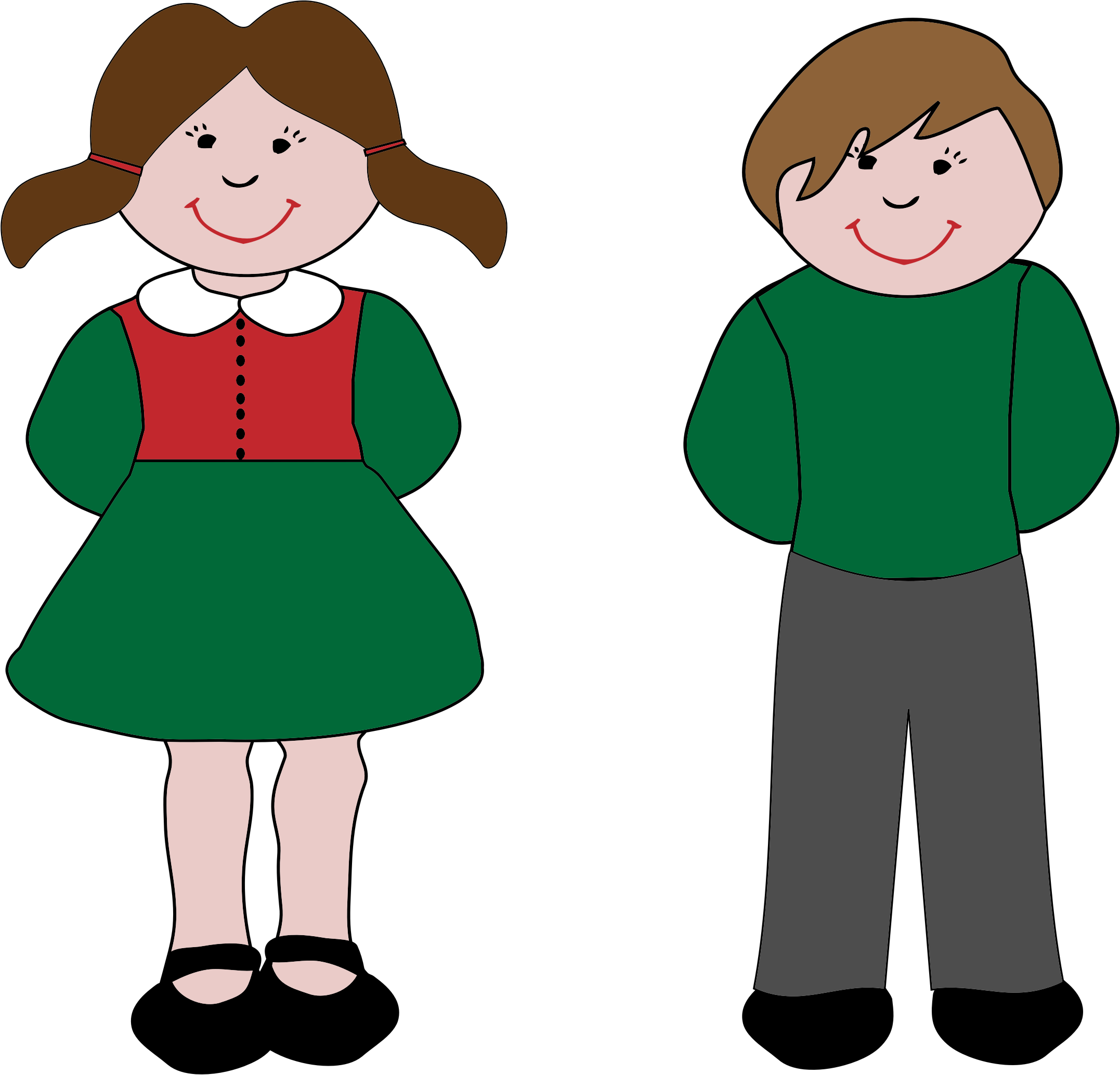 Boy And Girl Icons PNG - Free PNG and Icons Downloads
