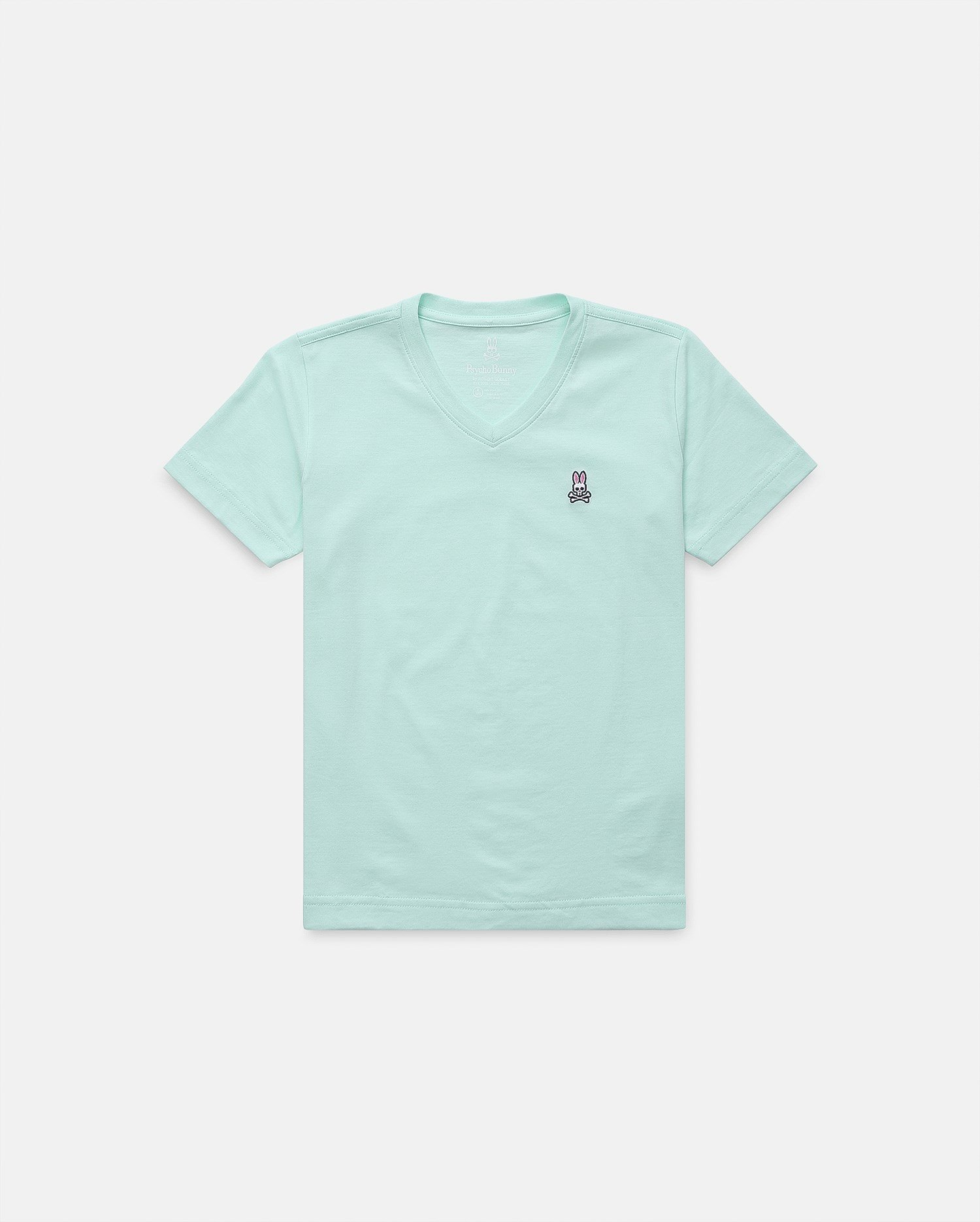 Boys V Neck Tee - Honeydew | Psycho Bunny