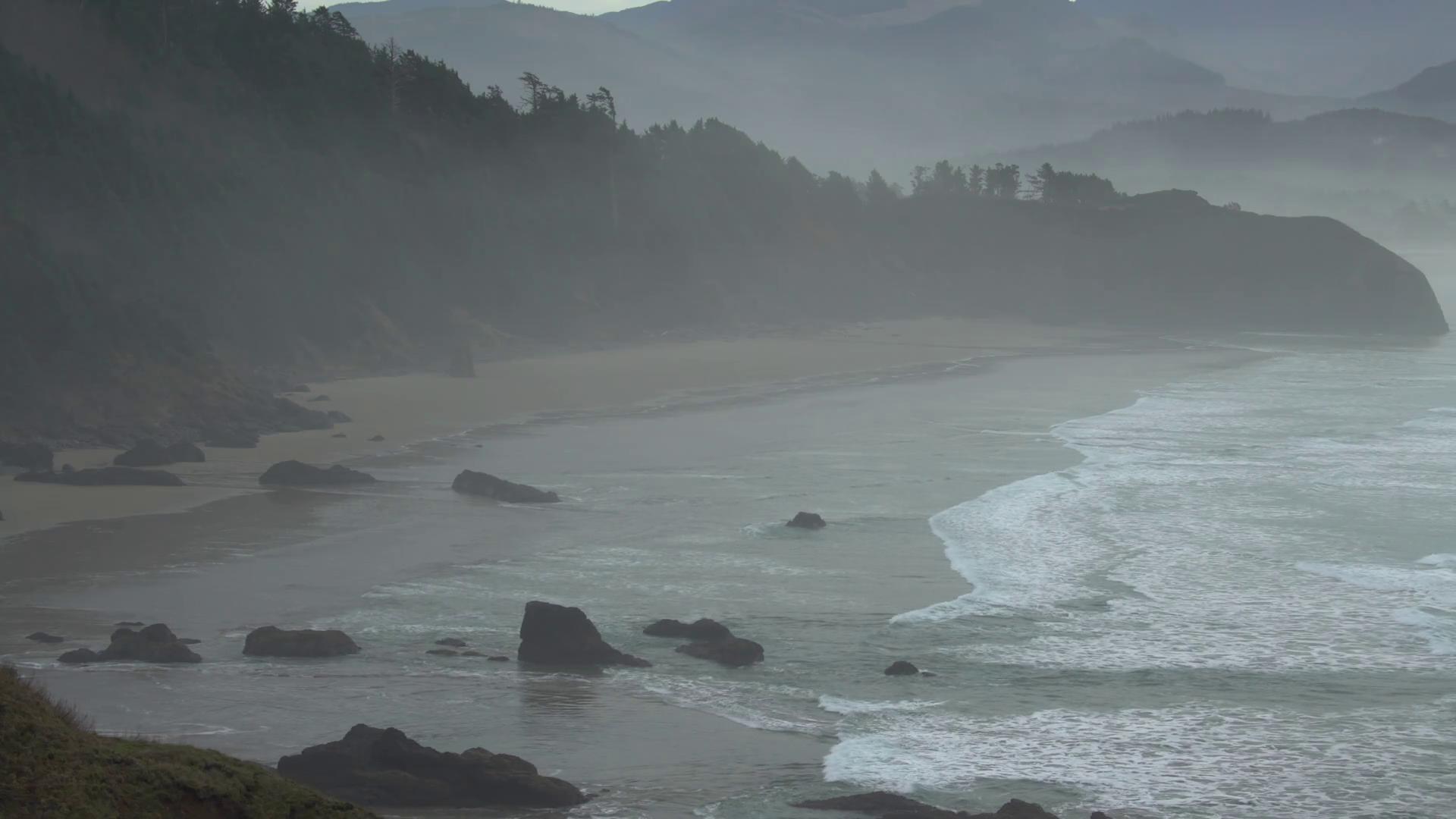 Sea Salt Haze from Breaking Waves. Sea salt haze from breaking waves ...