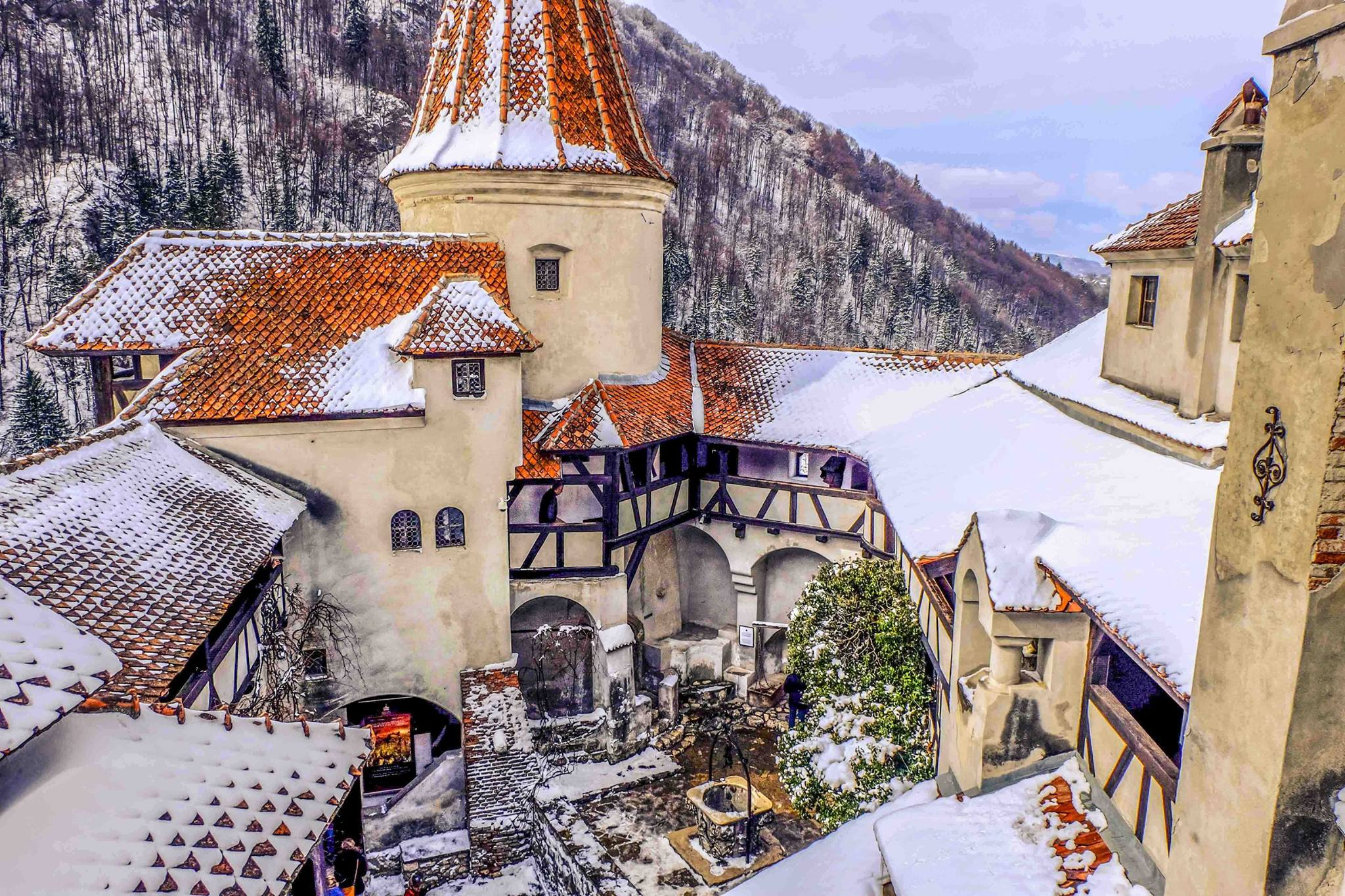 The fascinating history of Bran: a virtual tour of Dracula's Castle ...