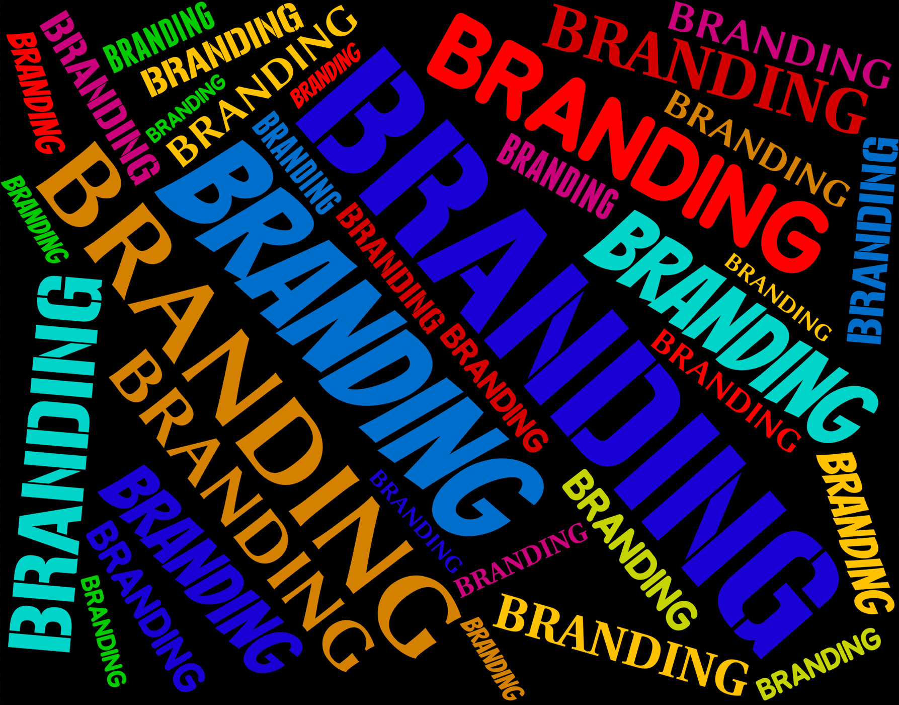 Branding Word Shows Words Label And Logos, Brand, Branded, Branding, Brandingword, HQ Photo