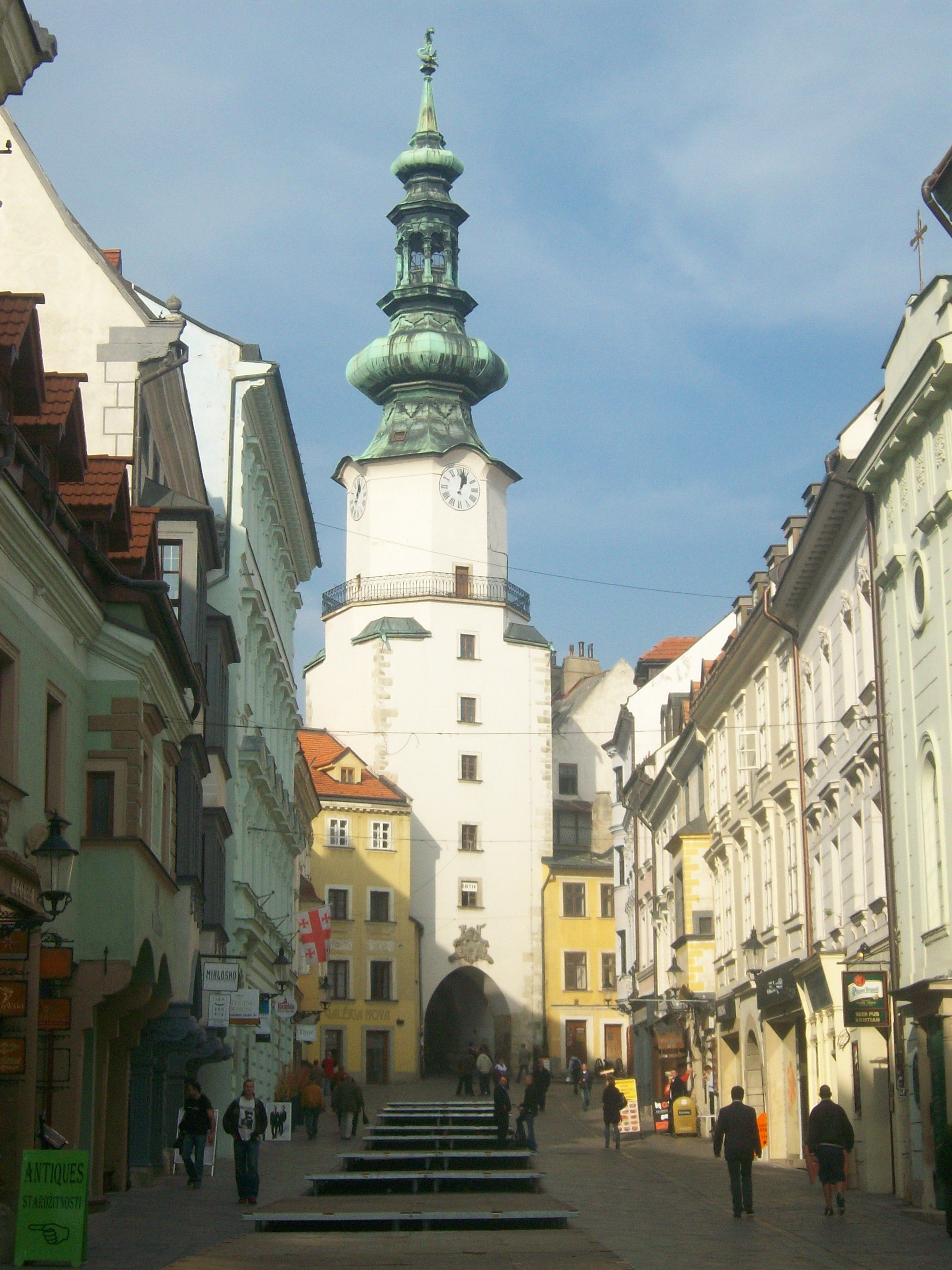 Old Town Bratislava in Slovakia | favorite places | Pinterest ...