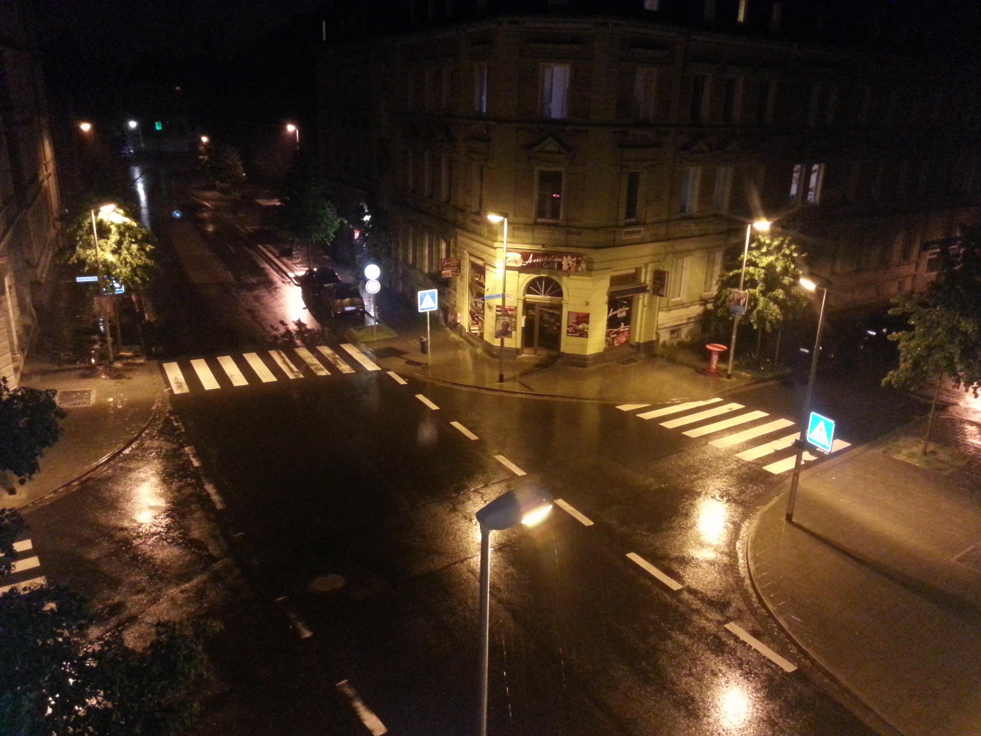 Braunschweig at night photo