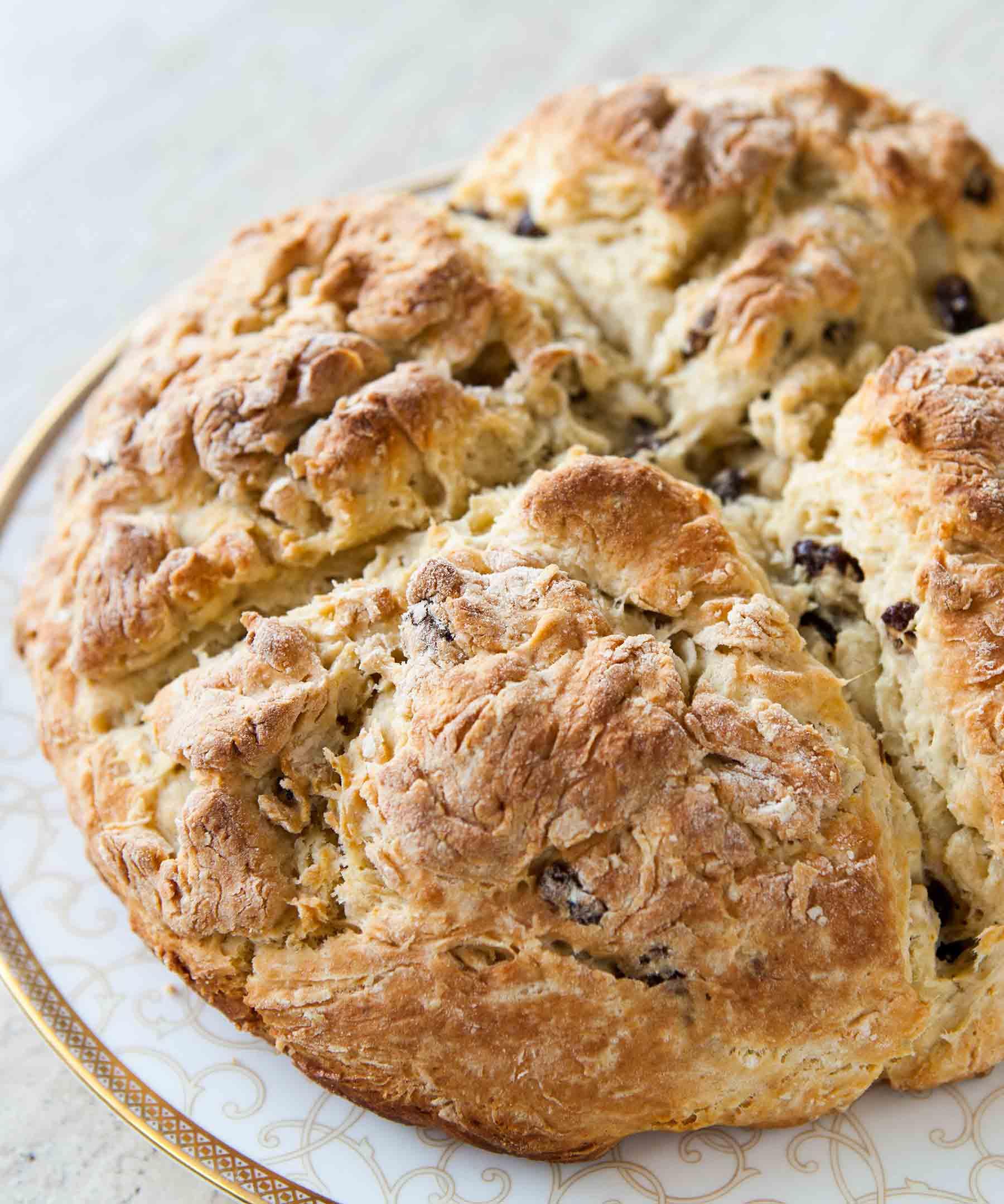 Irish Soda Bread Recipe   SimplyRecipes.com
